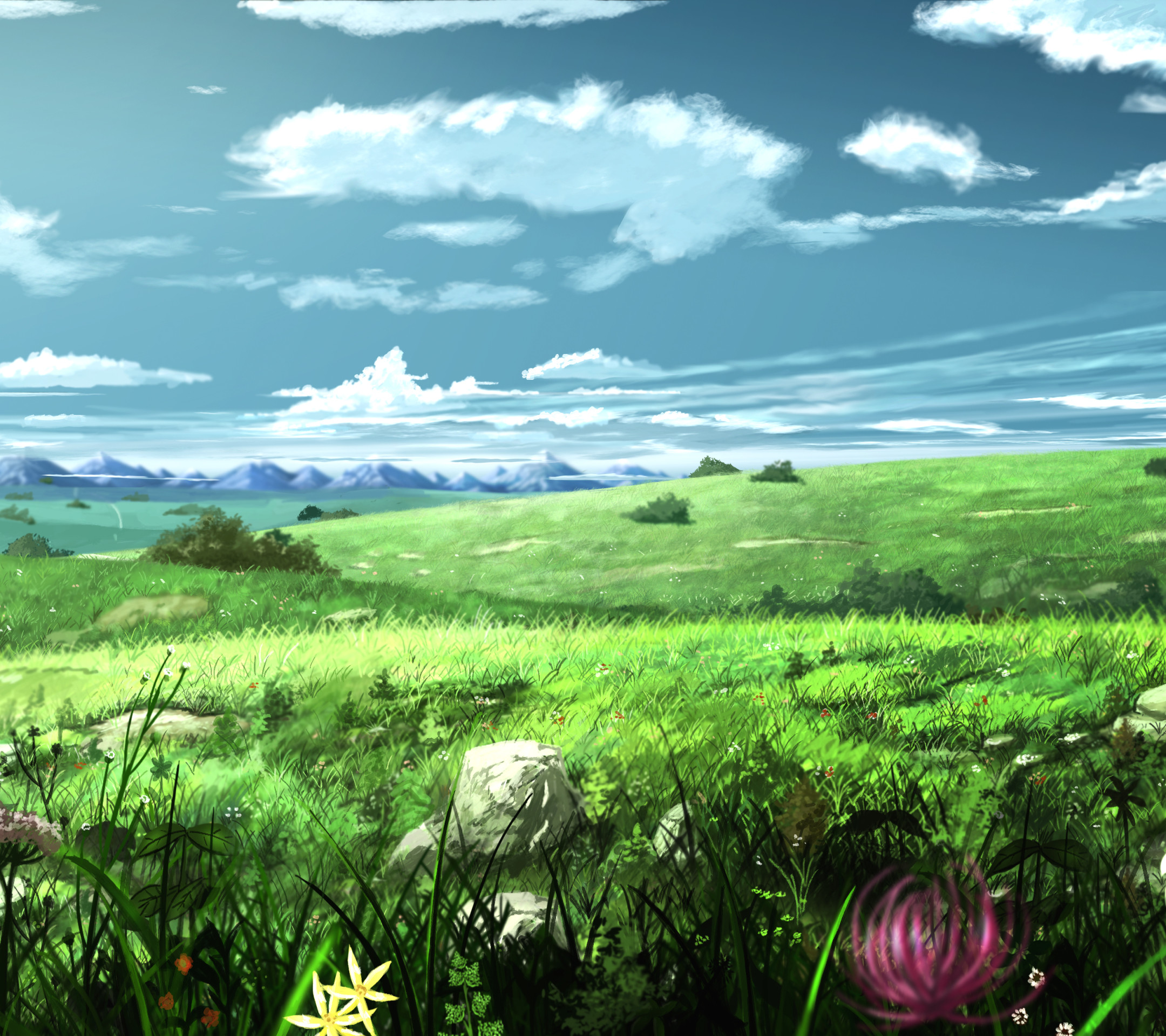 Nature: Anime Nature Wallpaper (77+ Images