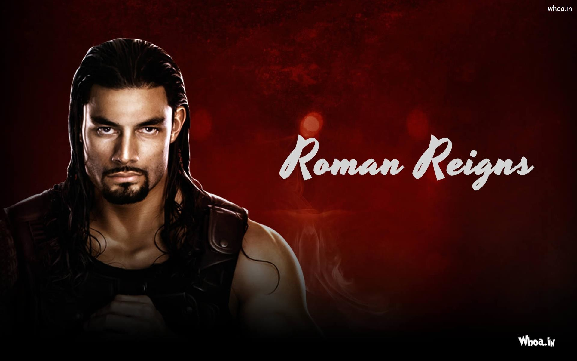 1920x1200 ... Roman Reigns Red Background Wallpaper