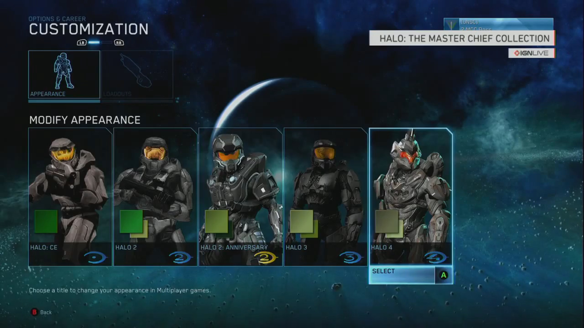 1920x1080 Halo Master Chief Collection Armor Customization