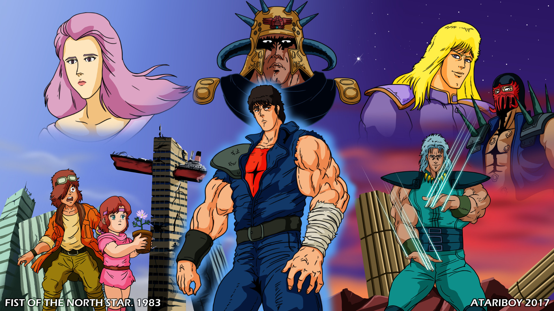 All fist of the north star