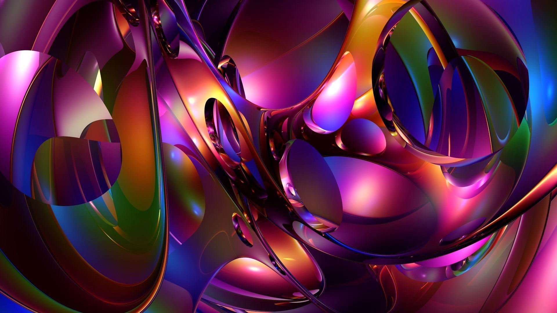 1920x1080 Cool 3D Abstract Wallpapers - WallpaperSafari Rings of smoke | Abstract  Wallpapers | Pinterest | Desktop .