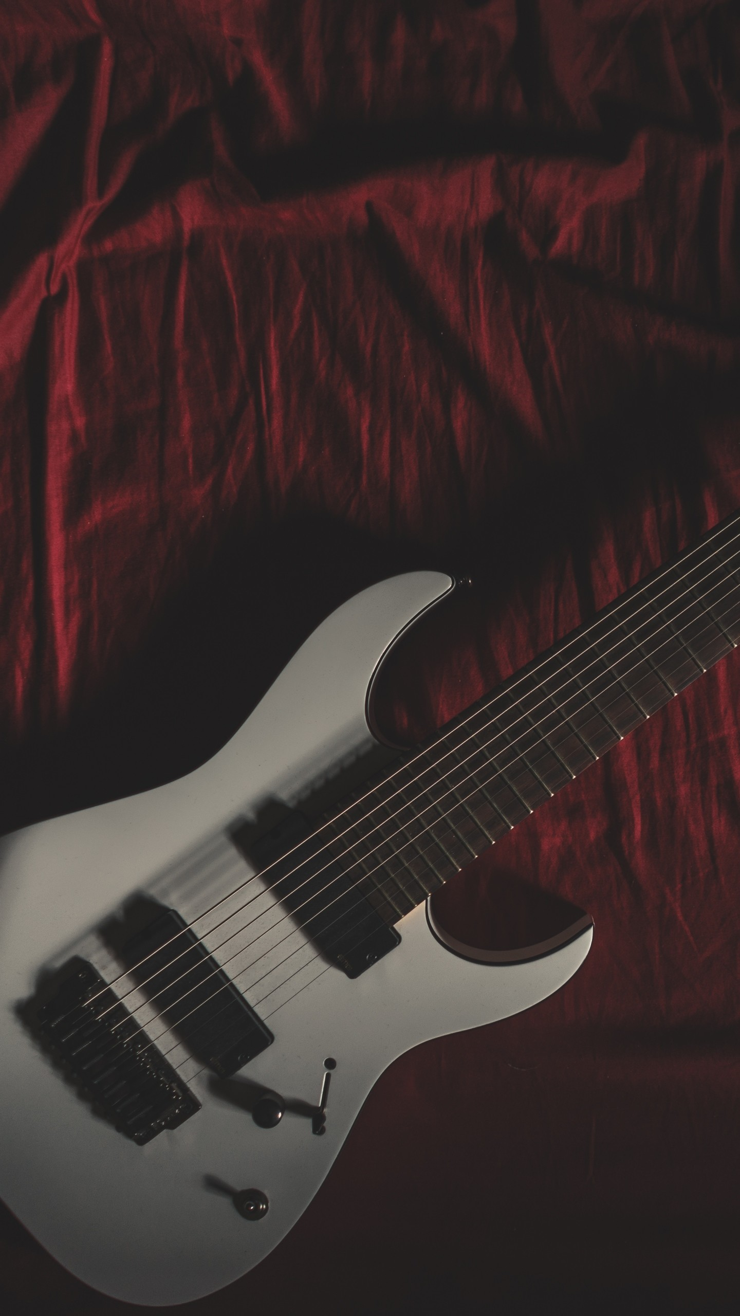 1440x2560 Preview wallpaper guitar, musical instrument, cloth