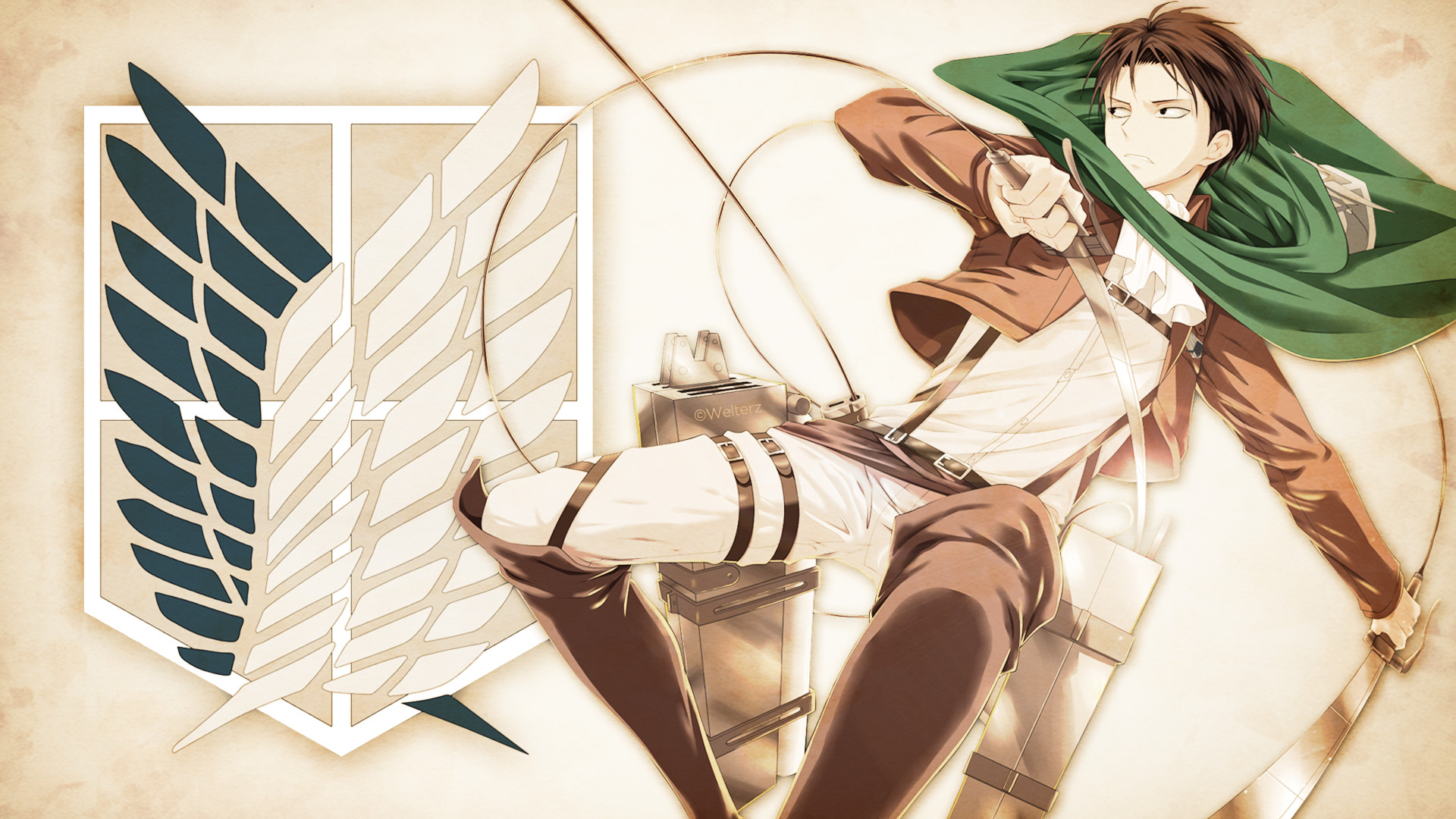 1920x1080 HD Wallpaper | Background ID:607708.  Anime Attack On Titan