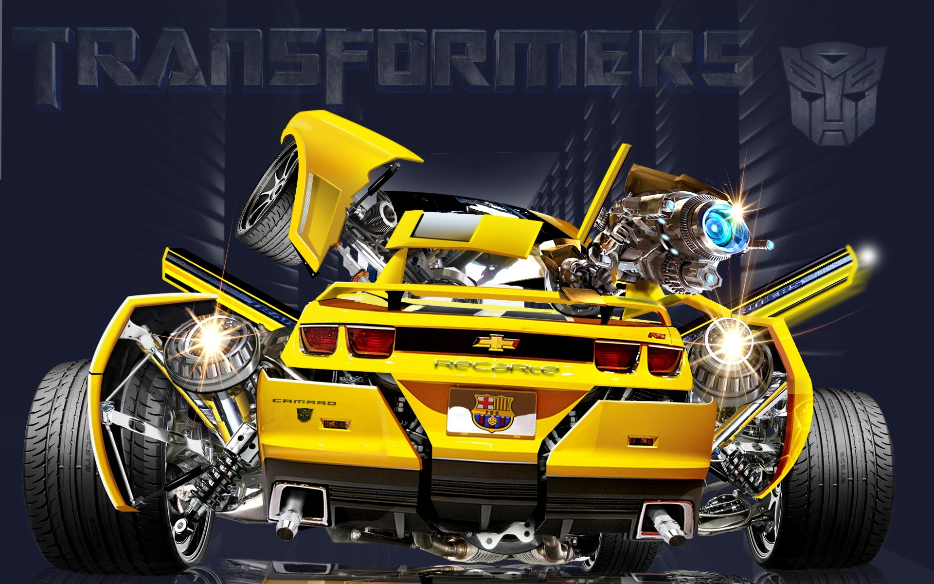 1920x1200 Bumblebee From Transformers Movie wallpaper | It's All a Fantasy .