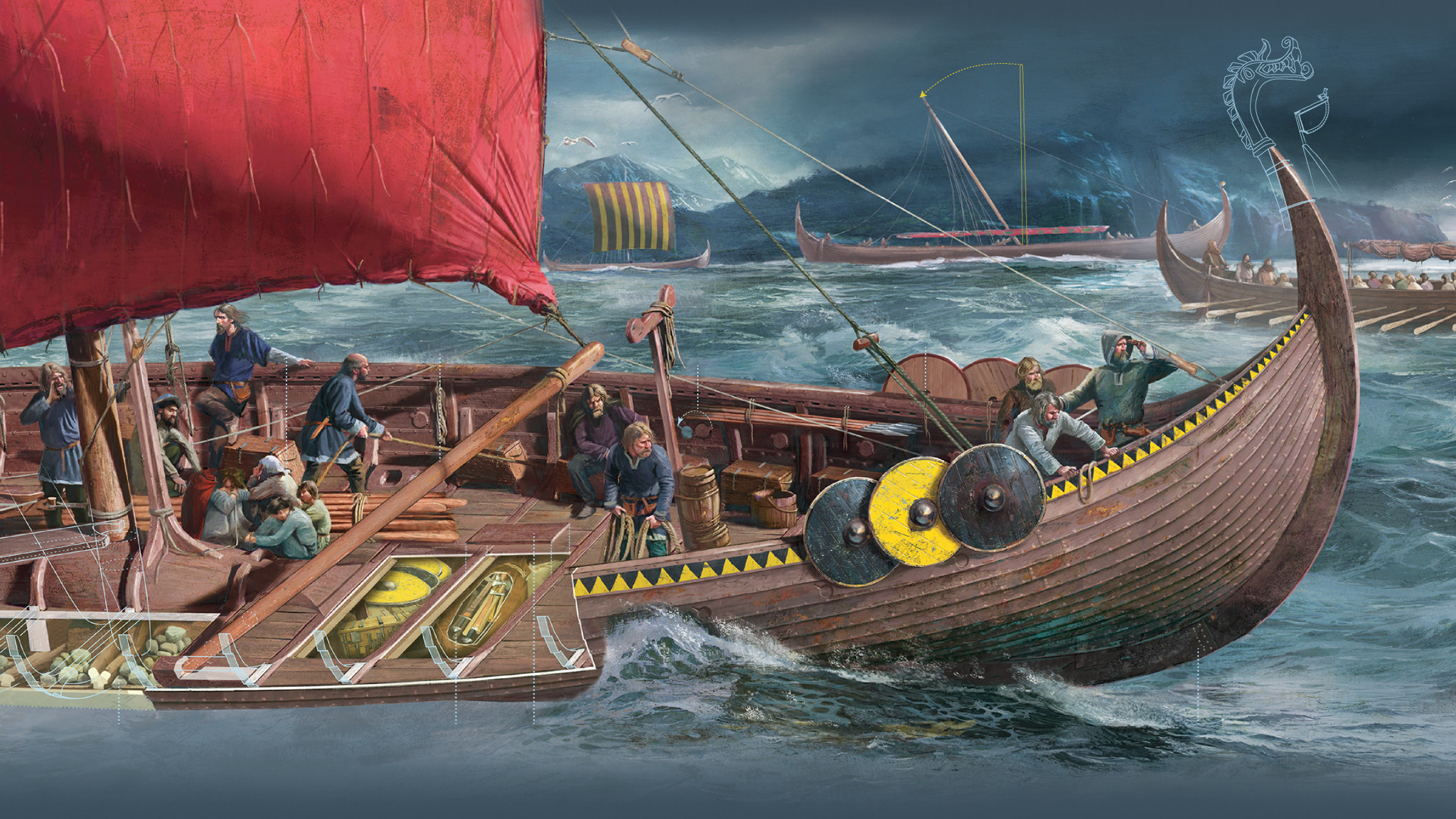 the early history and voyages of the vikings A famous viking explorer returned home from a voyage and found his name missing from the town register when the craziness of new year's eve 1999 has come and gone, the significance of the millennium for north americans will focus on two events 1,000 years apart that changed our history.
