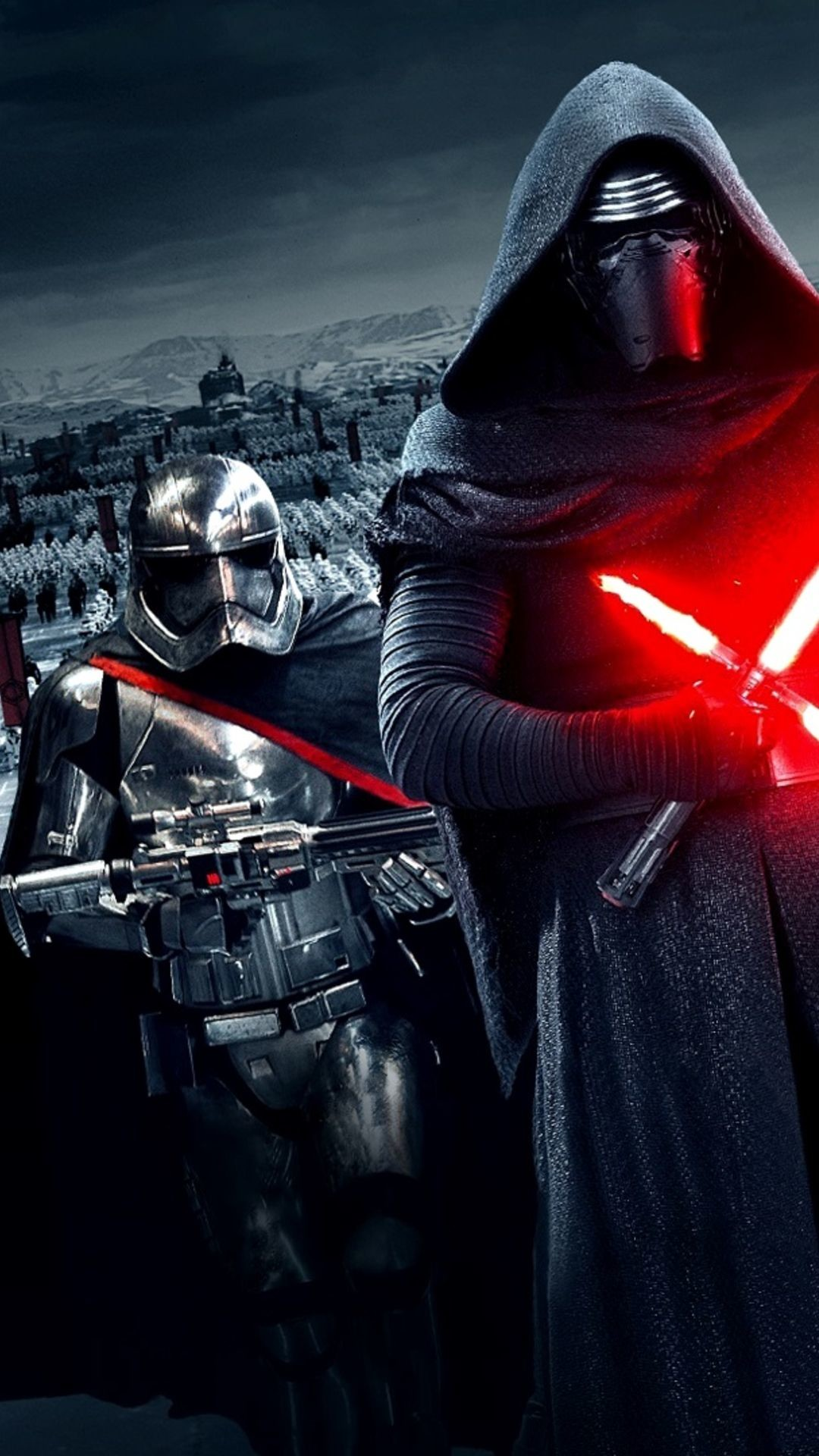 1080x1920 Star Wars The Force Awakens Wallpaper Kylo Ren Lightsaber. Download:  iPhone. Star Wars The Force ...