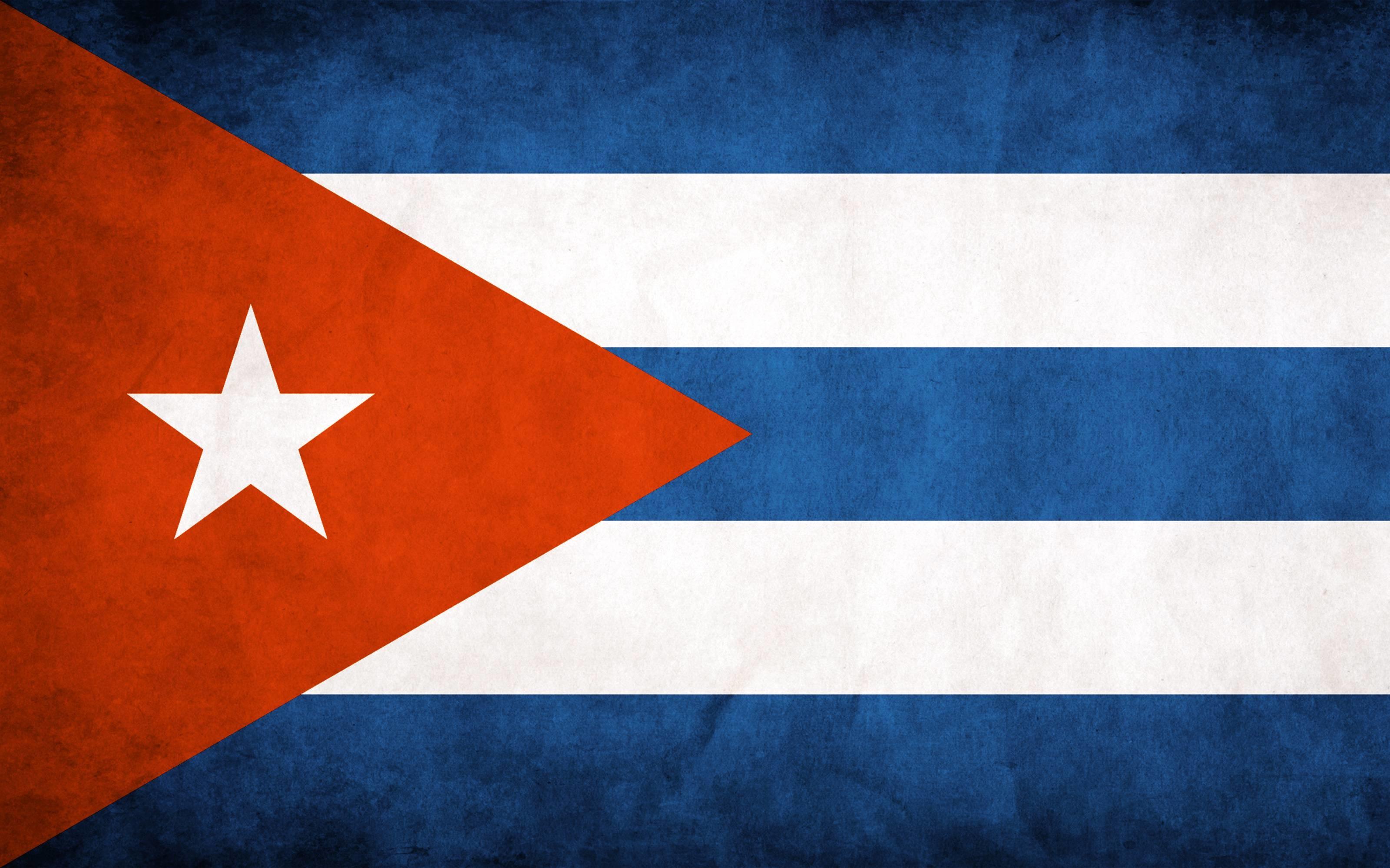 3200x2000 Cuba Flag Wallpaper