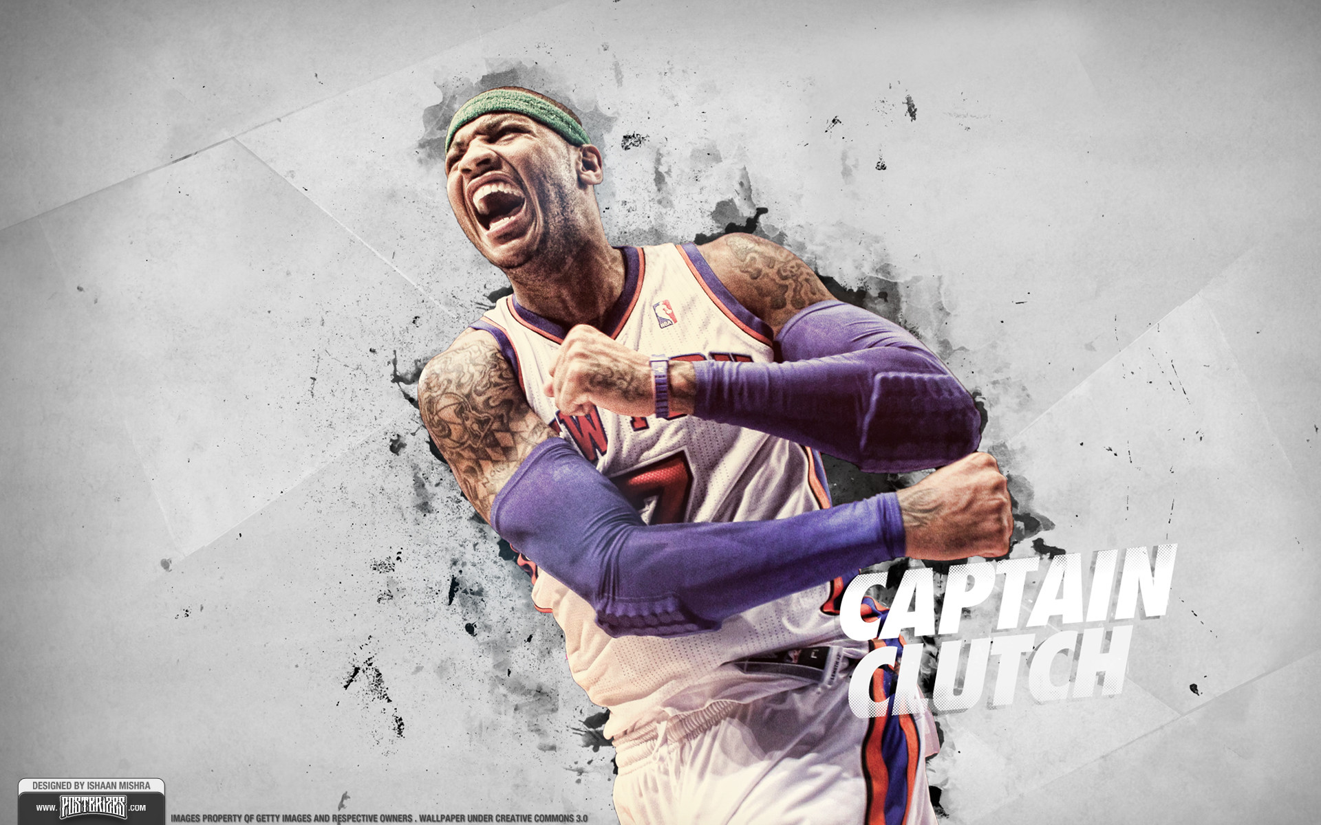 1920x1200 rhurst 38 7 Carmelo Anthony Knicks Wallpaper by IshaanMishra
