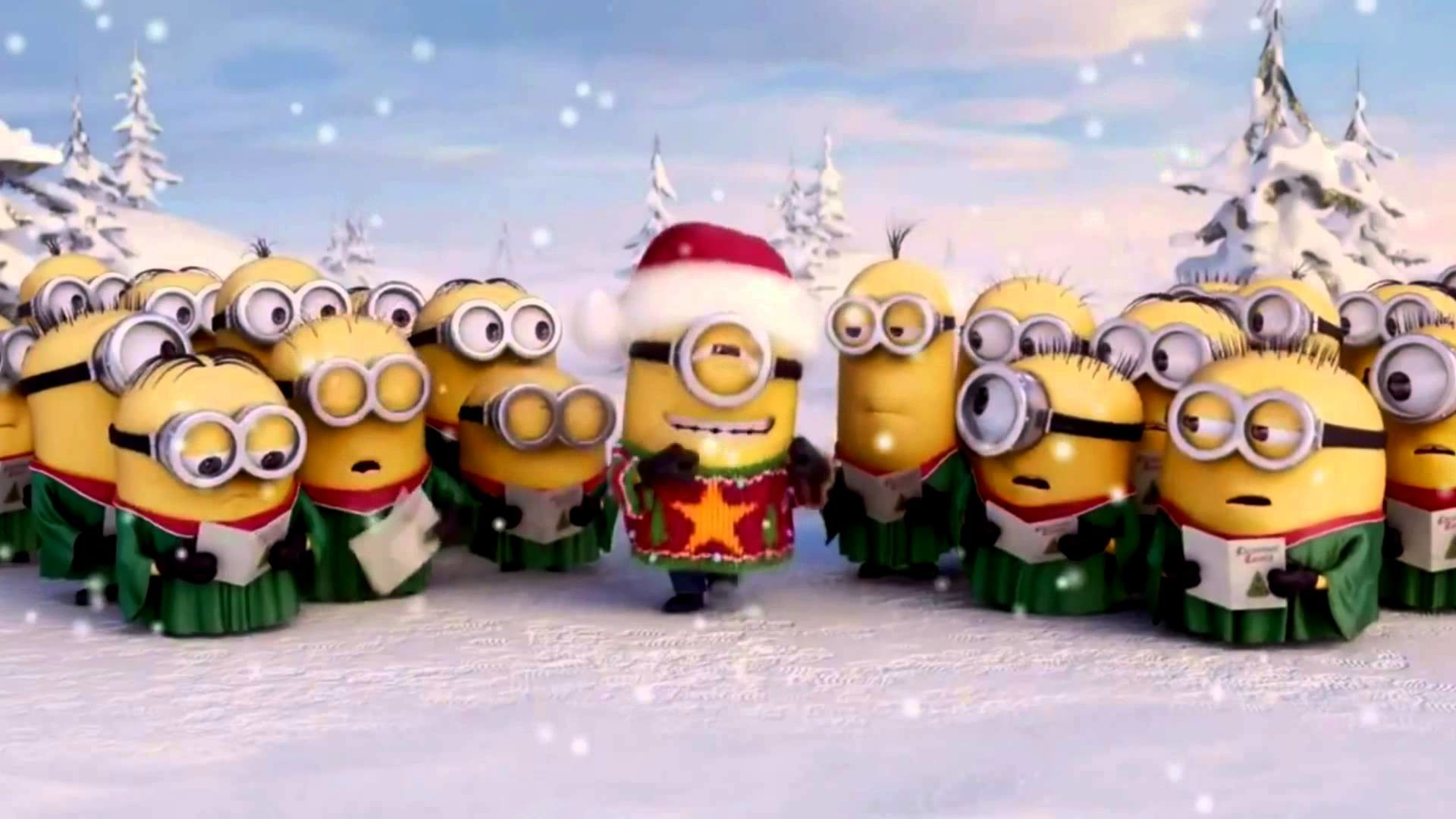 1920x1080 Christmas with minions in Suriname - YouTube