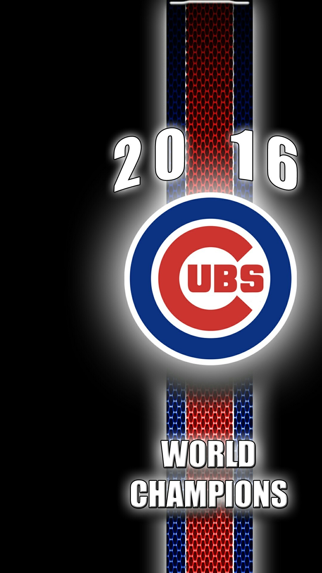 1080x1920 Chicago Cubs-- 2016 World Champions More. Chicago Cubs WallpaperSports  WallpapersRoot ...