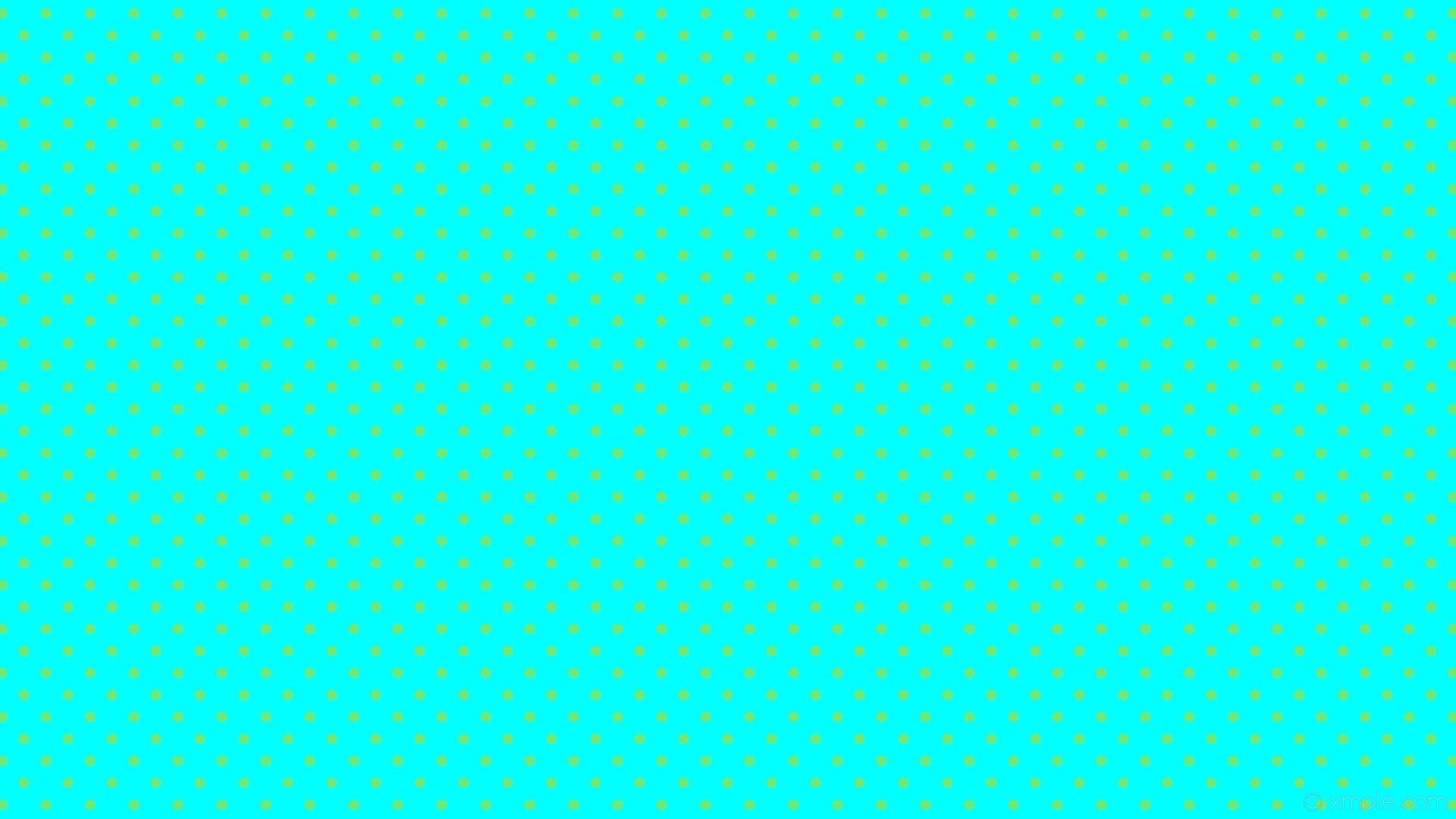 1920x1080 Wallpaper Dots Blue Green Polka Spots Aqua Cyan 00ffff 72e874 225A 14px
