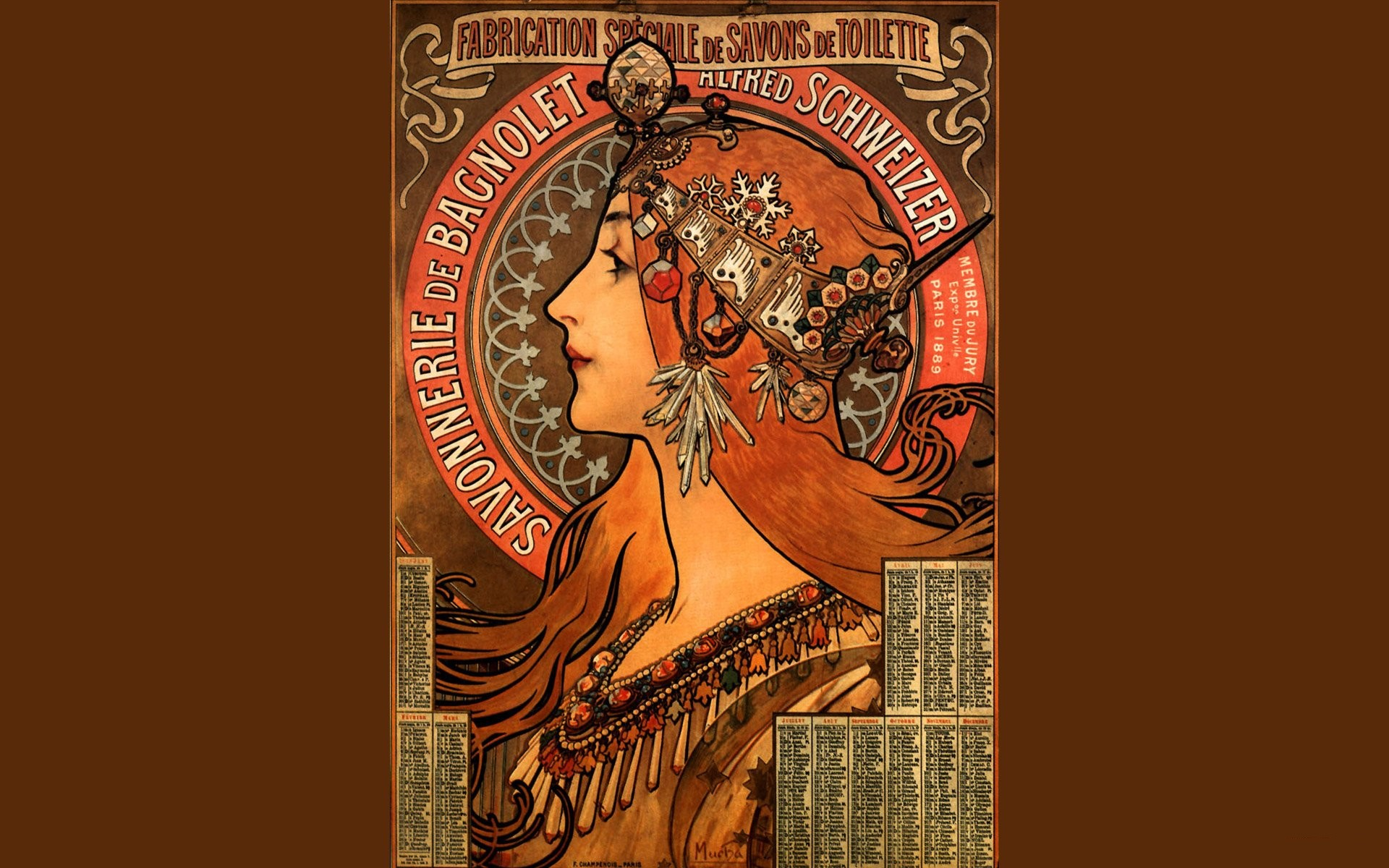 1920x1200 wallpaper.wiki-Free-Alphonse-Mucha-Photo-PIC-WPC003818