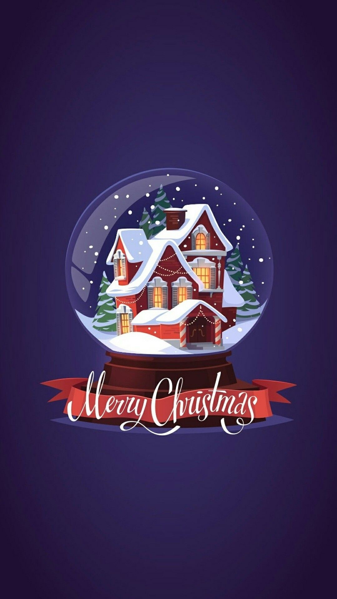 1080x1920 Merry Christmas snow globe. Holiday Wallpaper, Merry Christmas Wallpapers, Merry  Christmas Pictures,