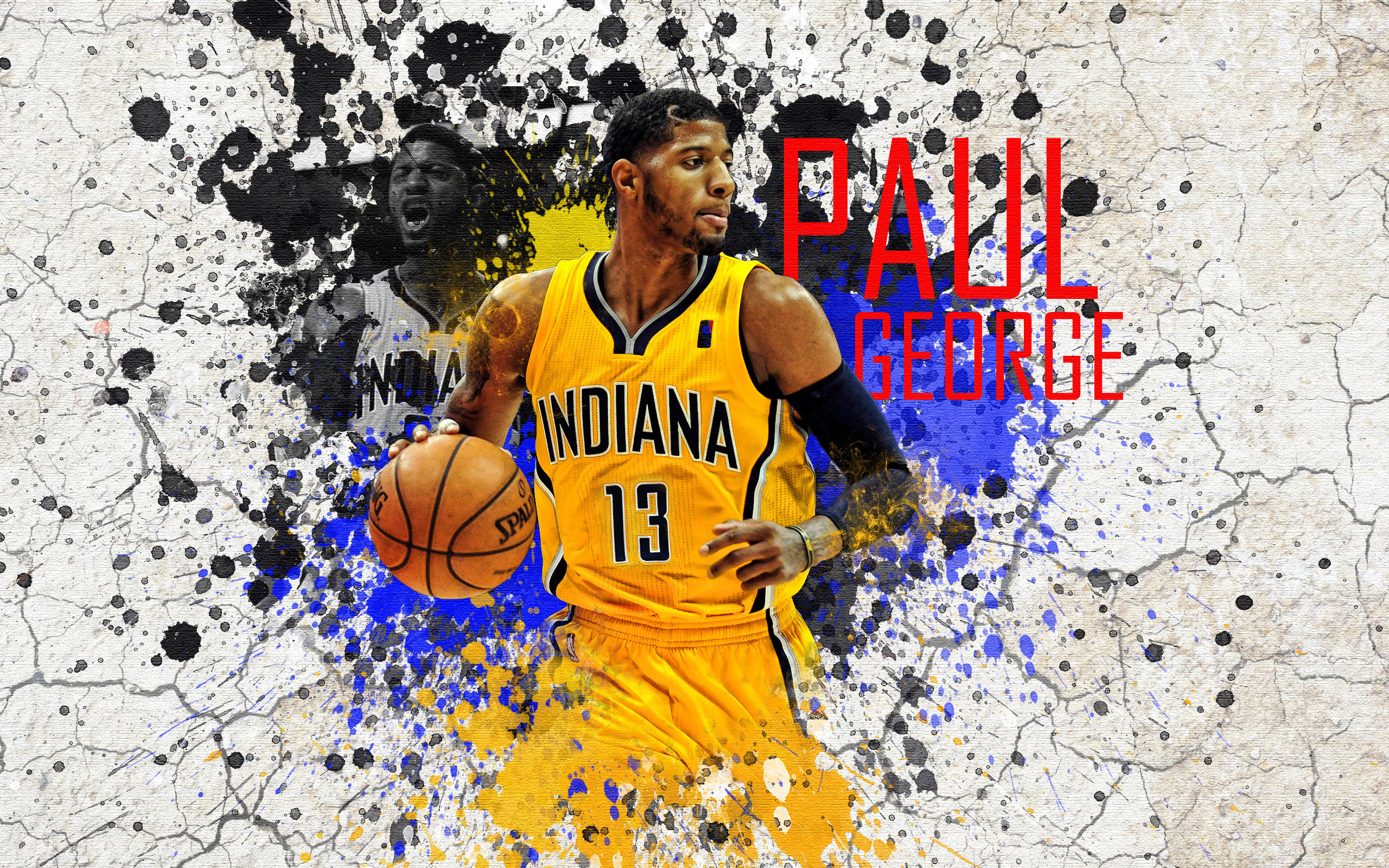 2560x1600 Paul George Pacers 2015  Wallpaper