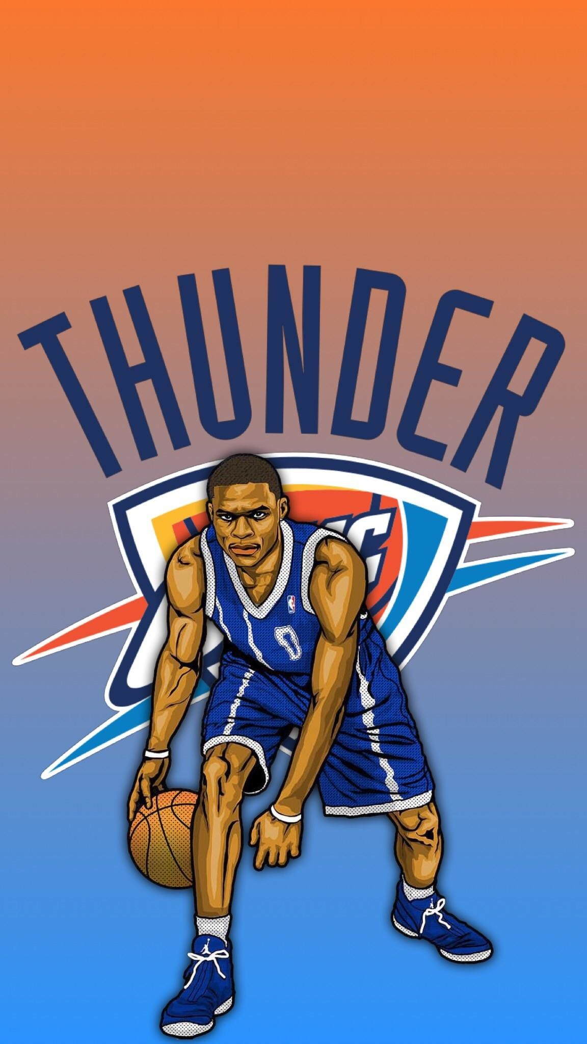 1152x2048 Made a Russell Westbrook wallpaper!