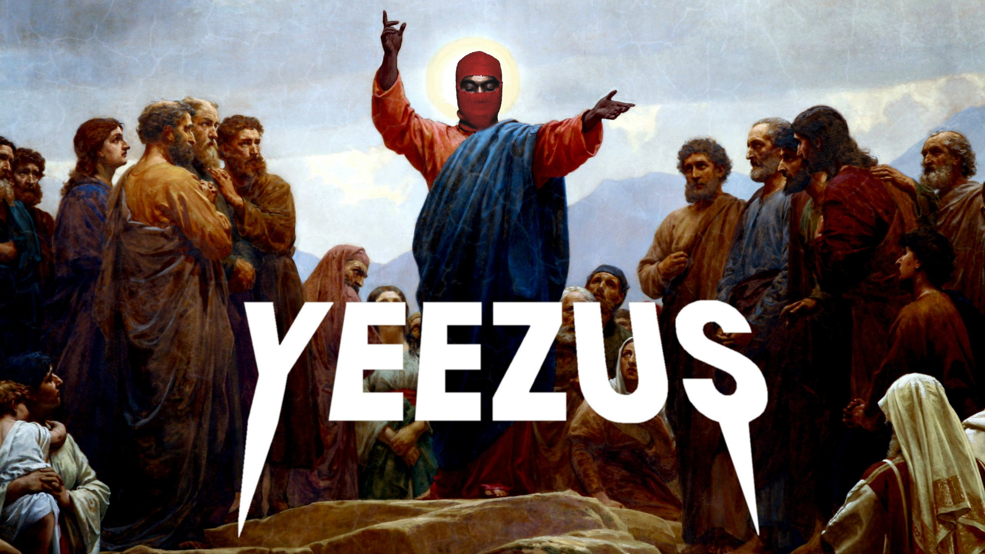 3240x1822 Yeezus Wallpaper I made [1920x1080] ...