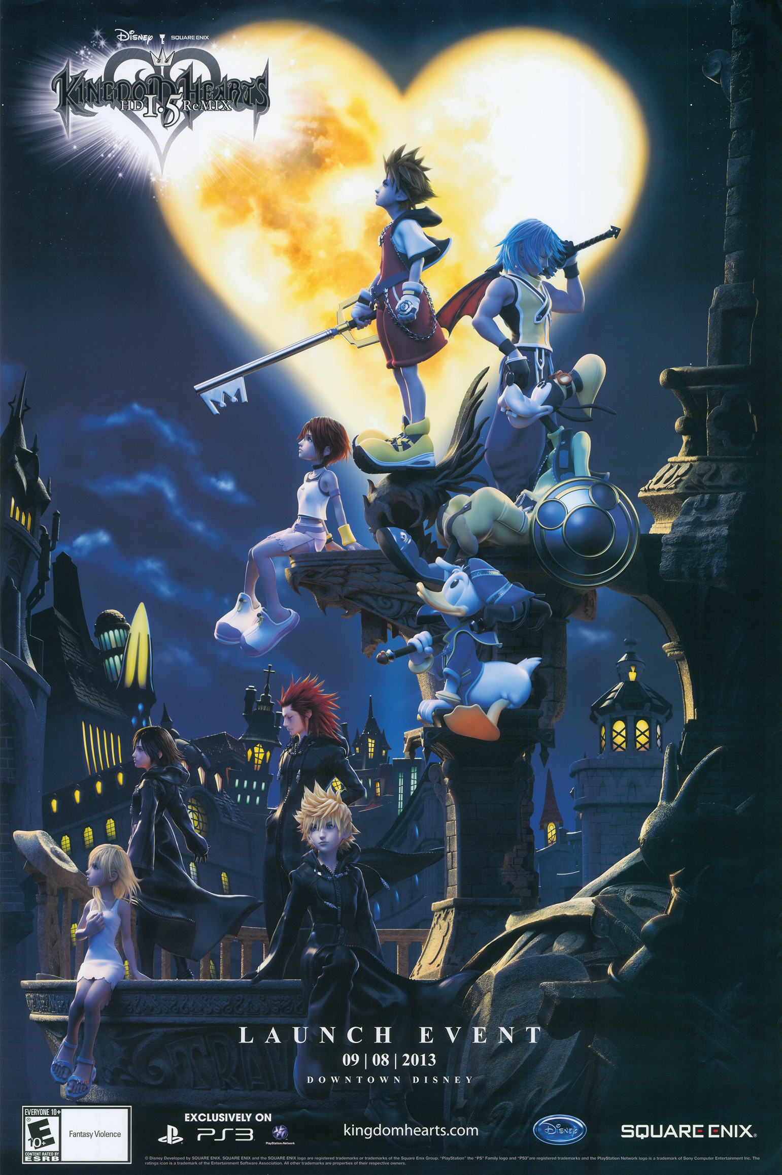 1541x2314 Kingdom Hearts---loved these games---release another already!