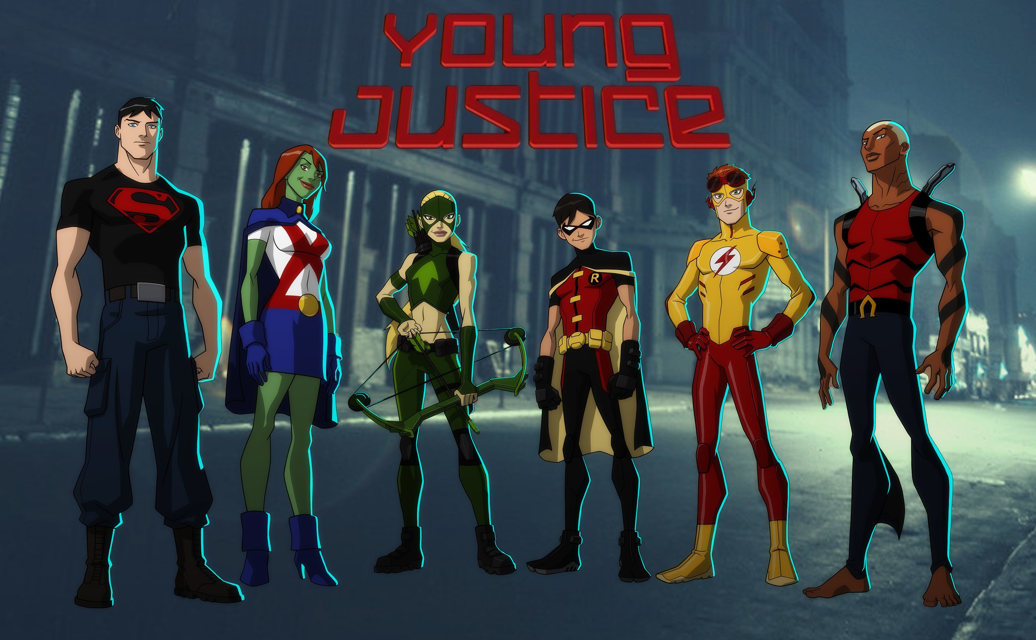 3328x2056 HD Wallpaper | Background Image ID:476228.  TV Show Young Justice