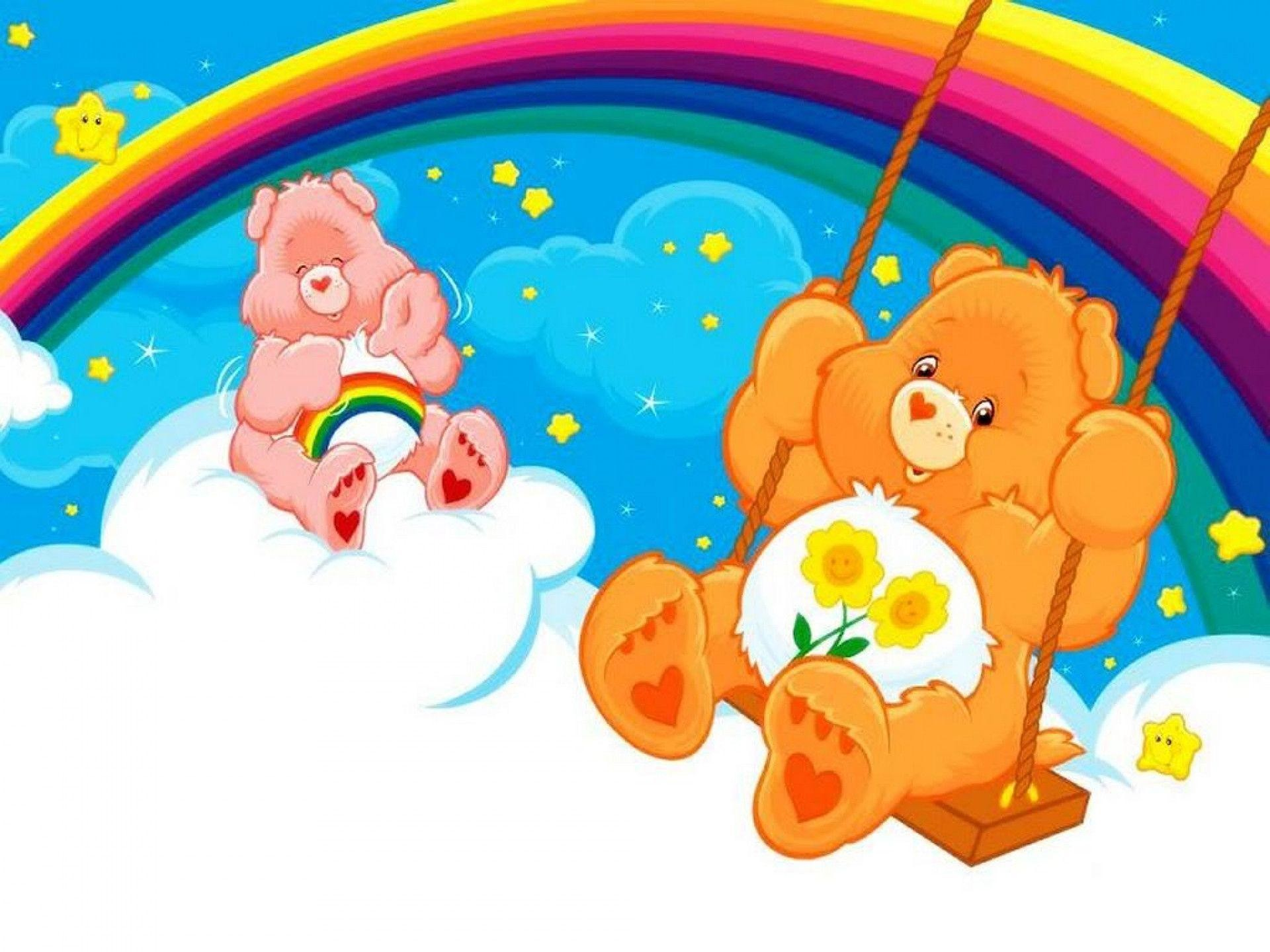 1920x1440 Care bears wallpaper background theme desktop