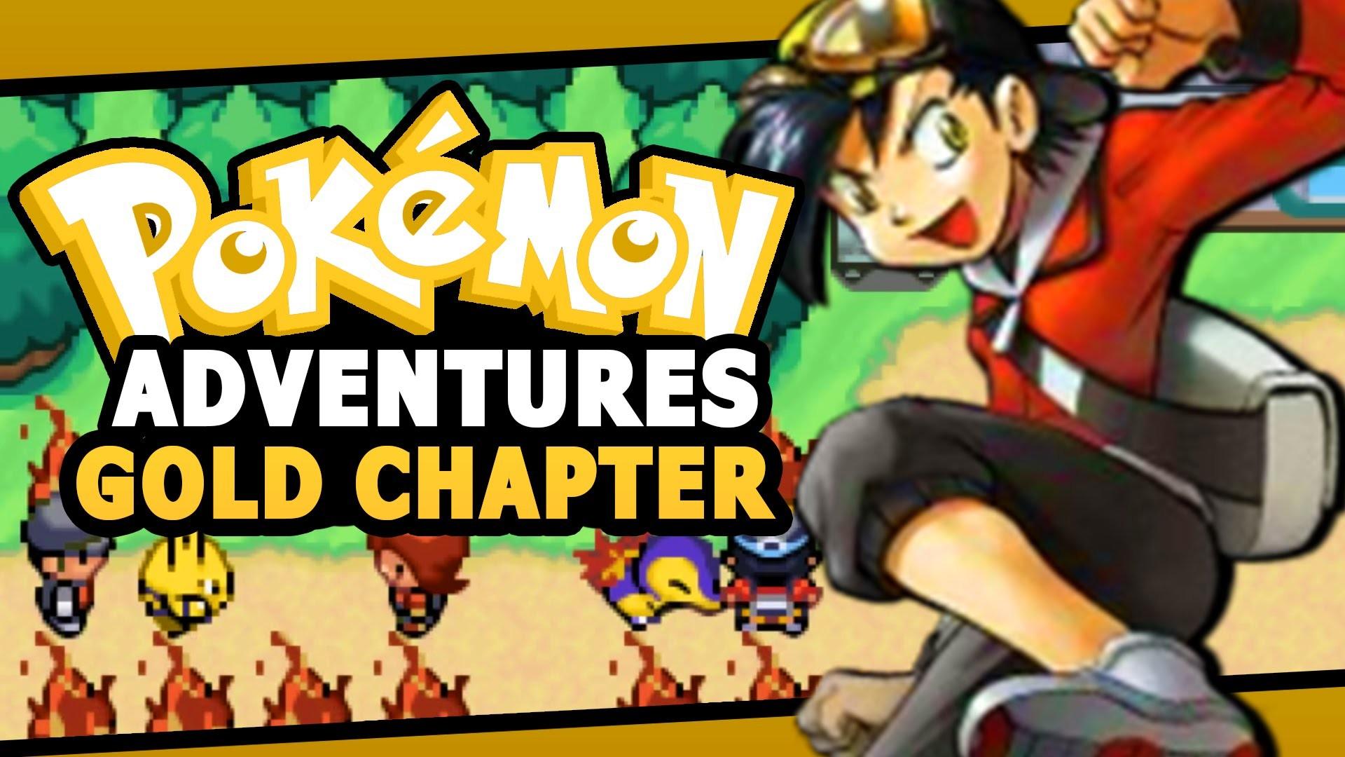 Pokemon adventure red rom gba download