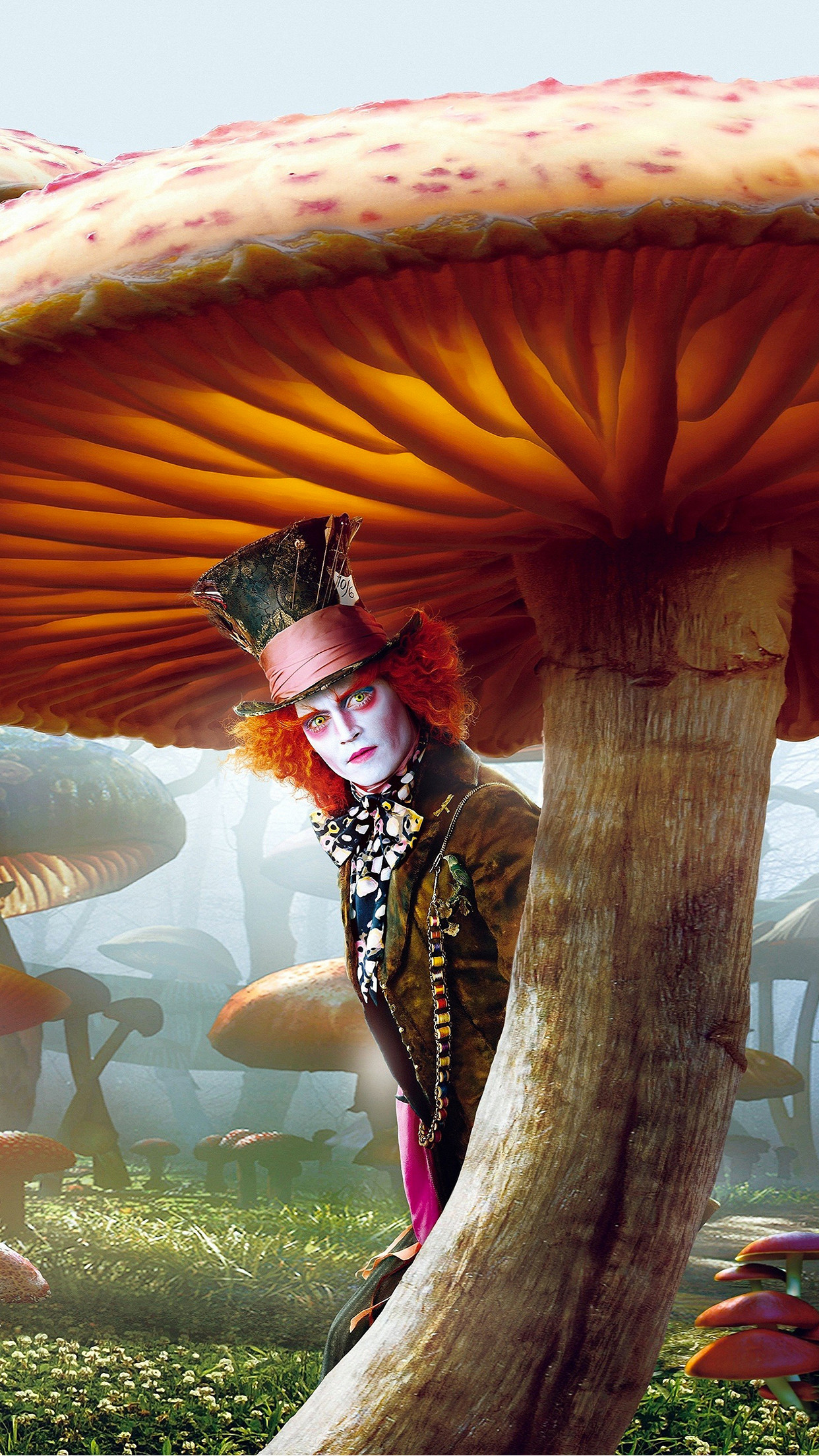 1242x2208 Alice-in-Wonderland-depp-mad-hatter-3Wallpapers-iPhone-