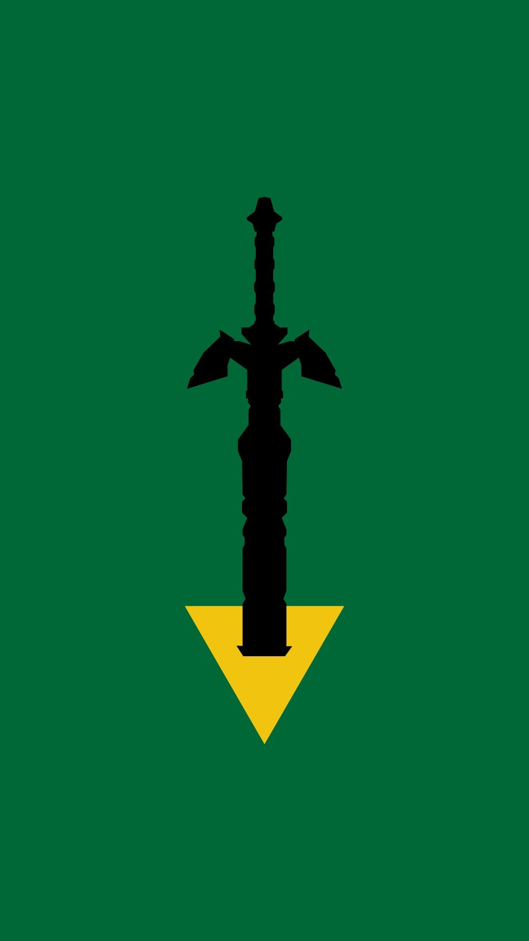 1080x1920 master sword wallpaper ...