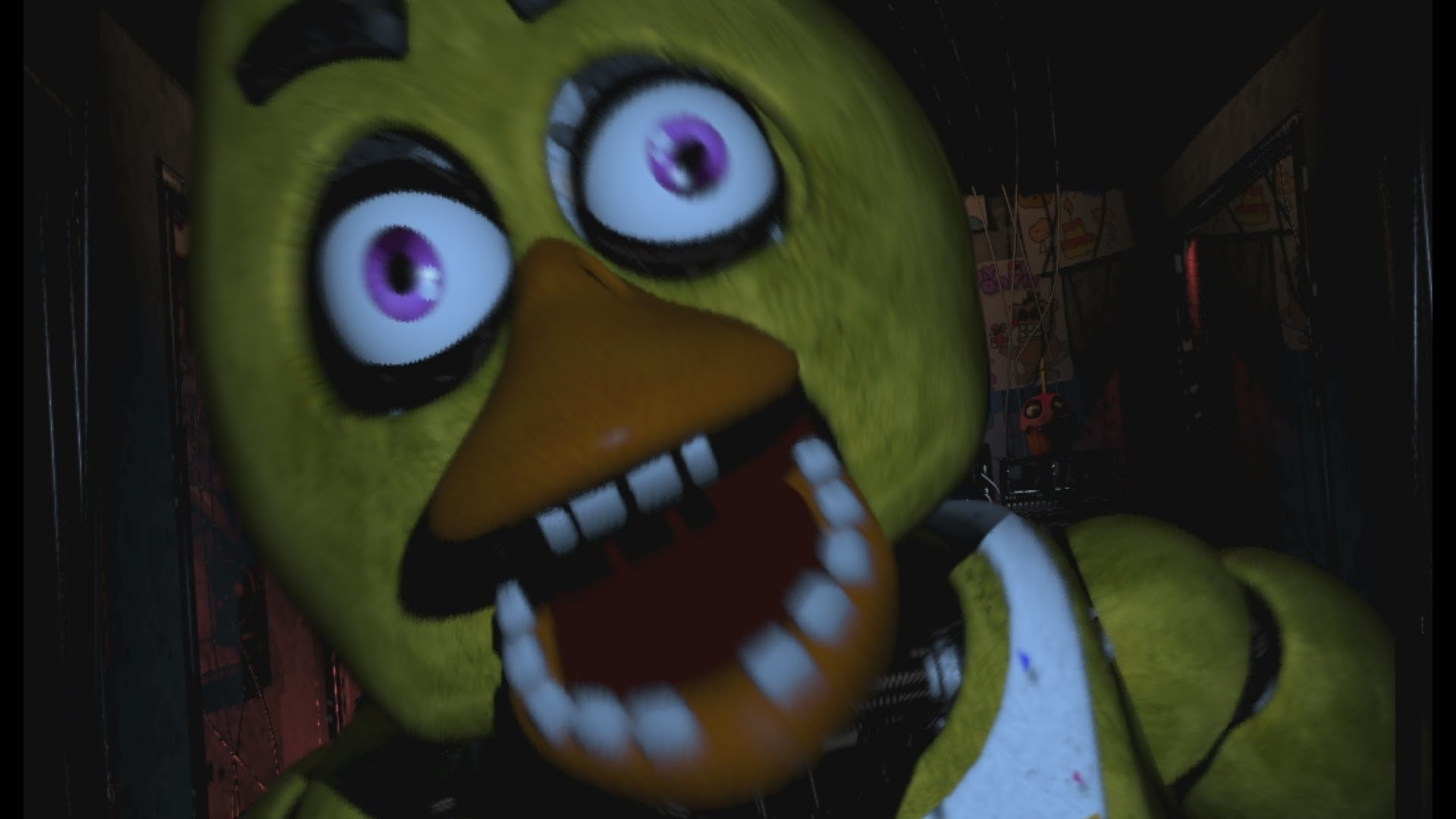 Five nights at freddys jumpscare gif