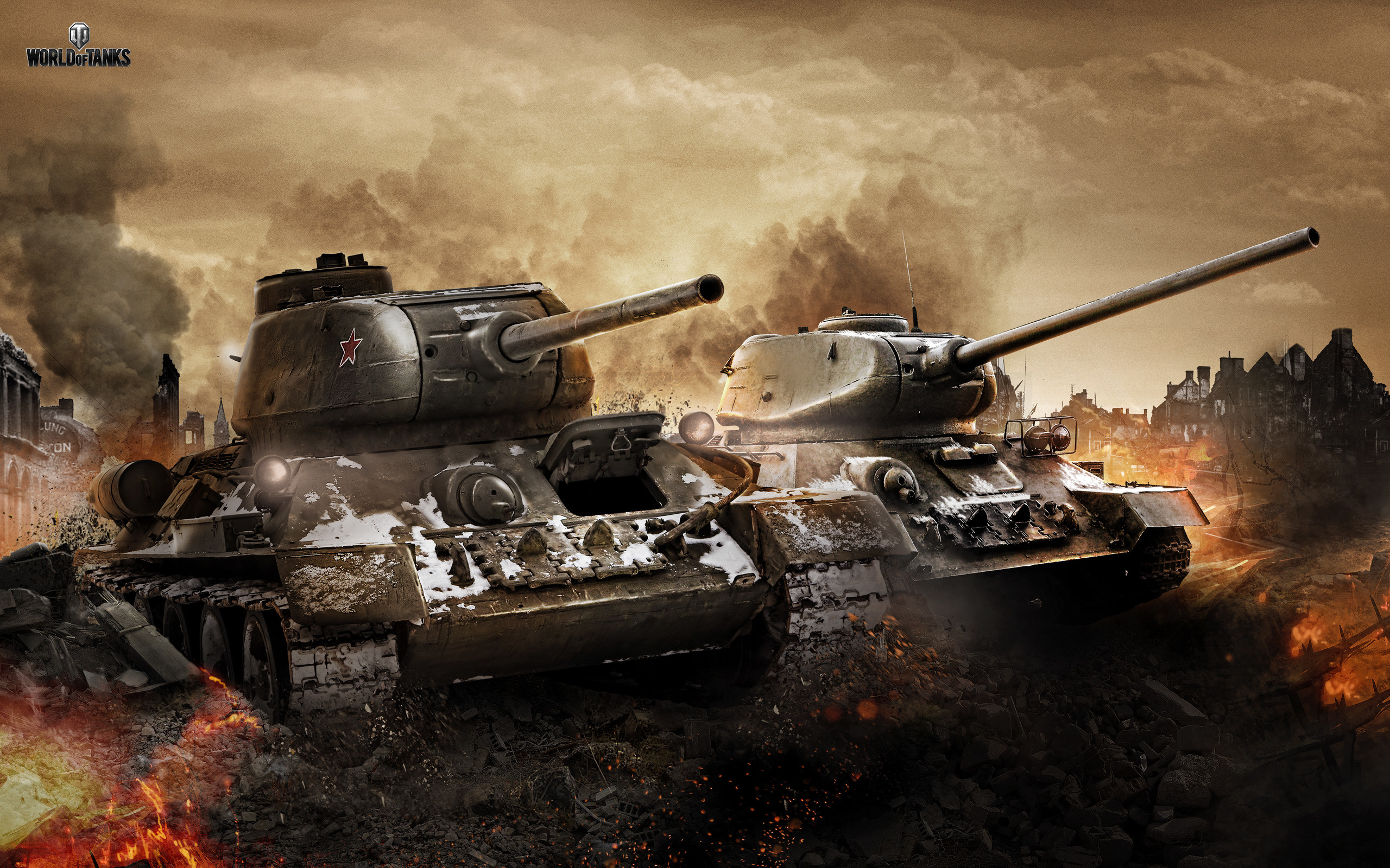 2560x1600 34 & T 34 85 in World of Tanks Wallpapers | HD Wallpapers