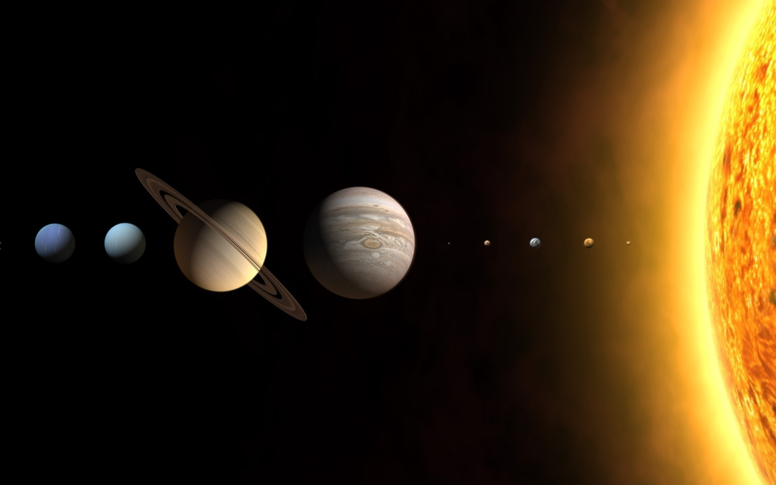 2560x1600 planet, Space, Solar System Wallpapers HD / Desktop and Mobile Backgrounds
