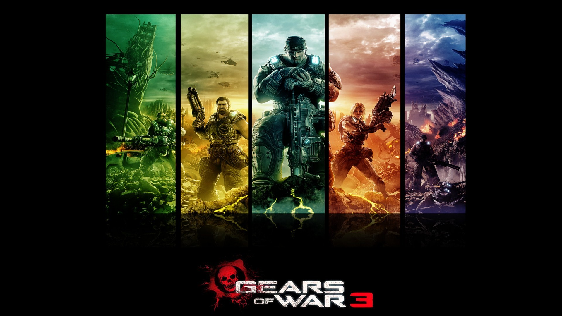 1920x1080 Gears Of War 3 HD Wallpaper | Background Image |  | ID:280281 -  Wallpaper Abyss