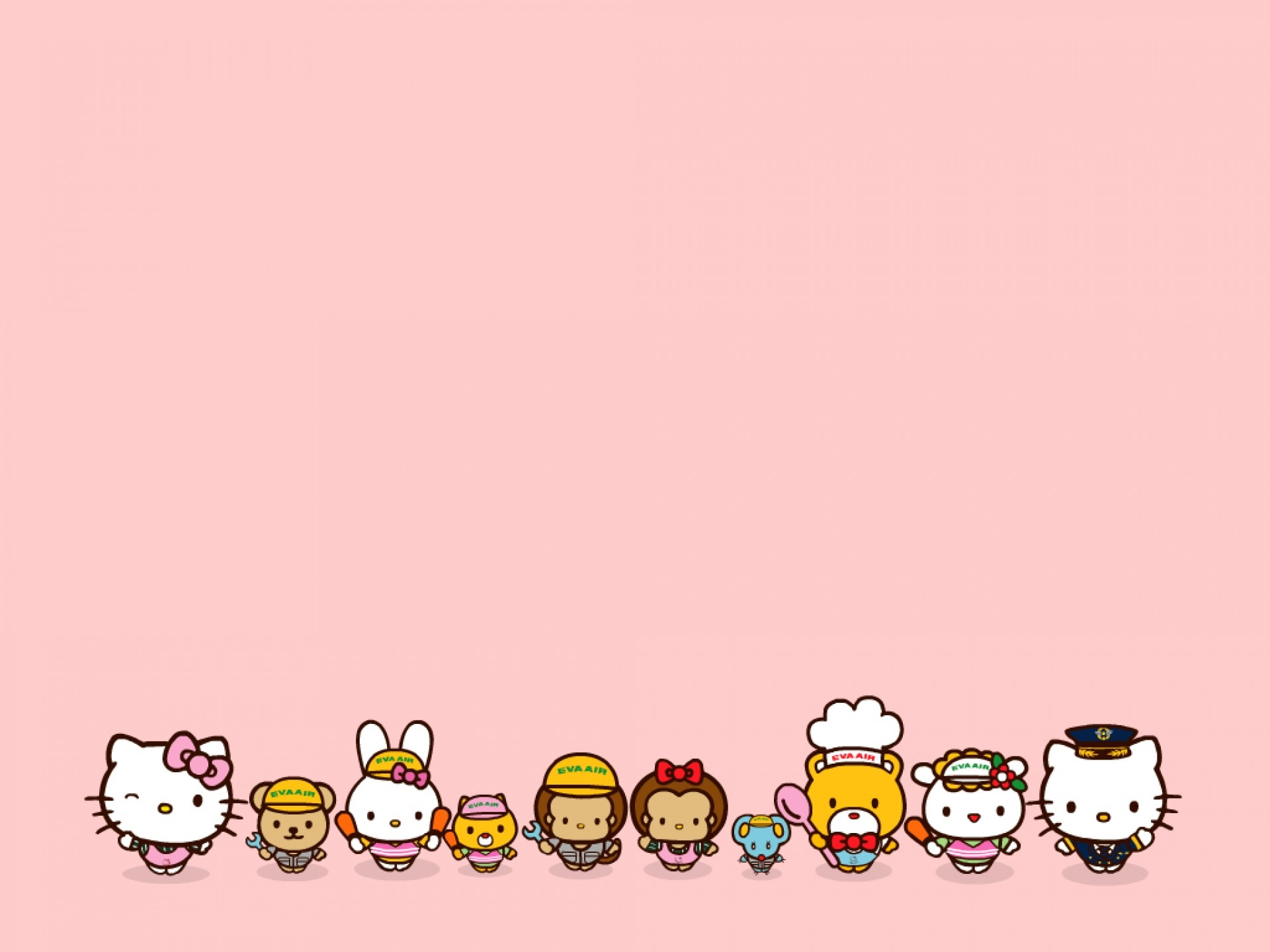1920x1440 Hello Kitty Characters Backgrounds