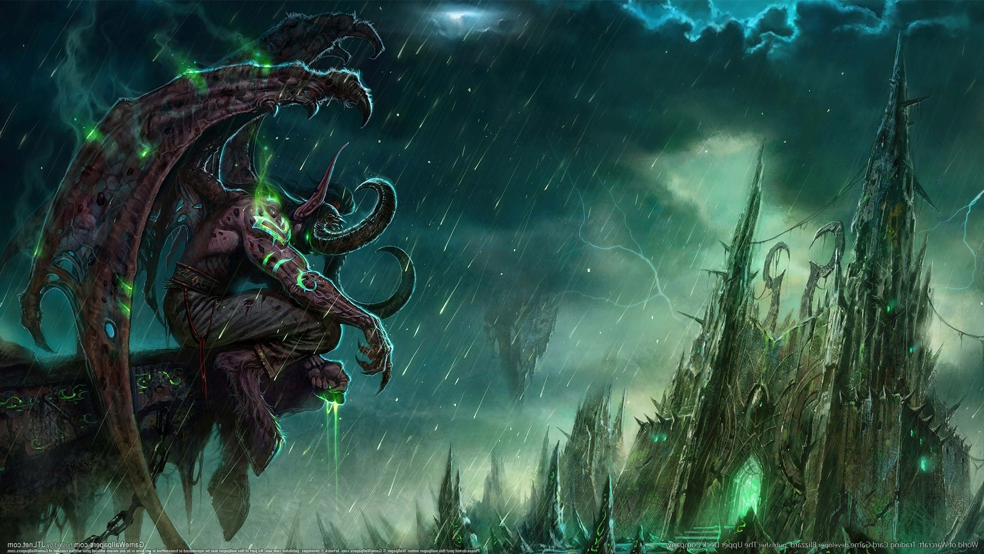 Illidan Stormrage Wallpaper 79 Images