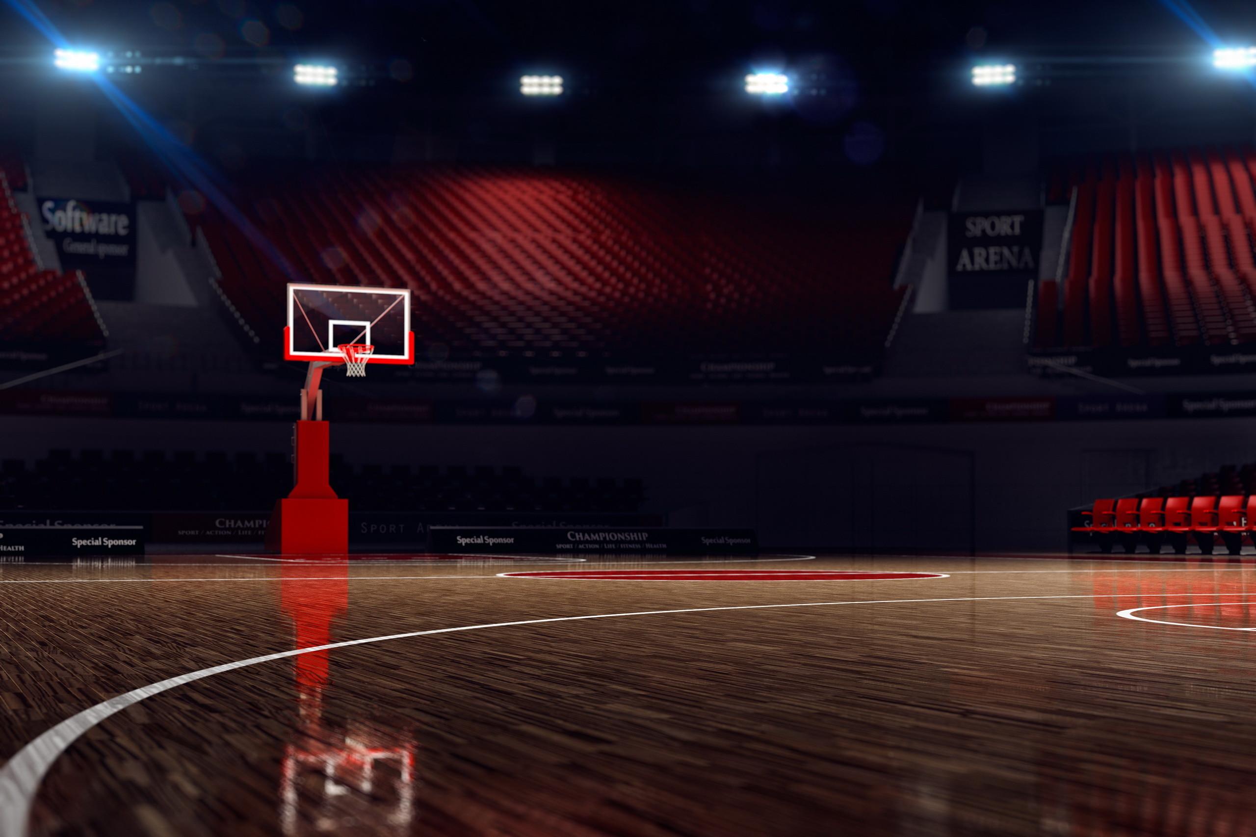 Basketball Court Wallpaper Background Free Download GameFree