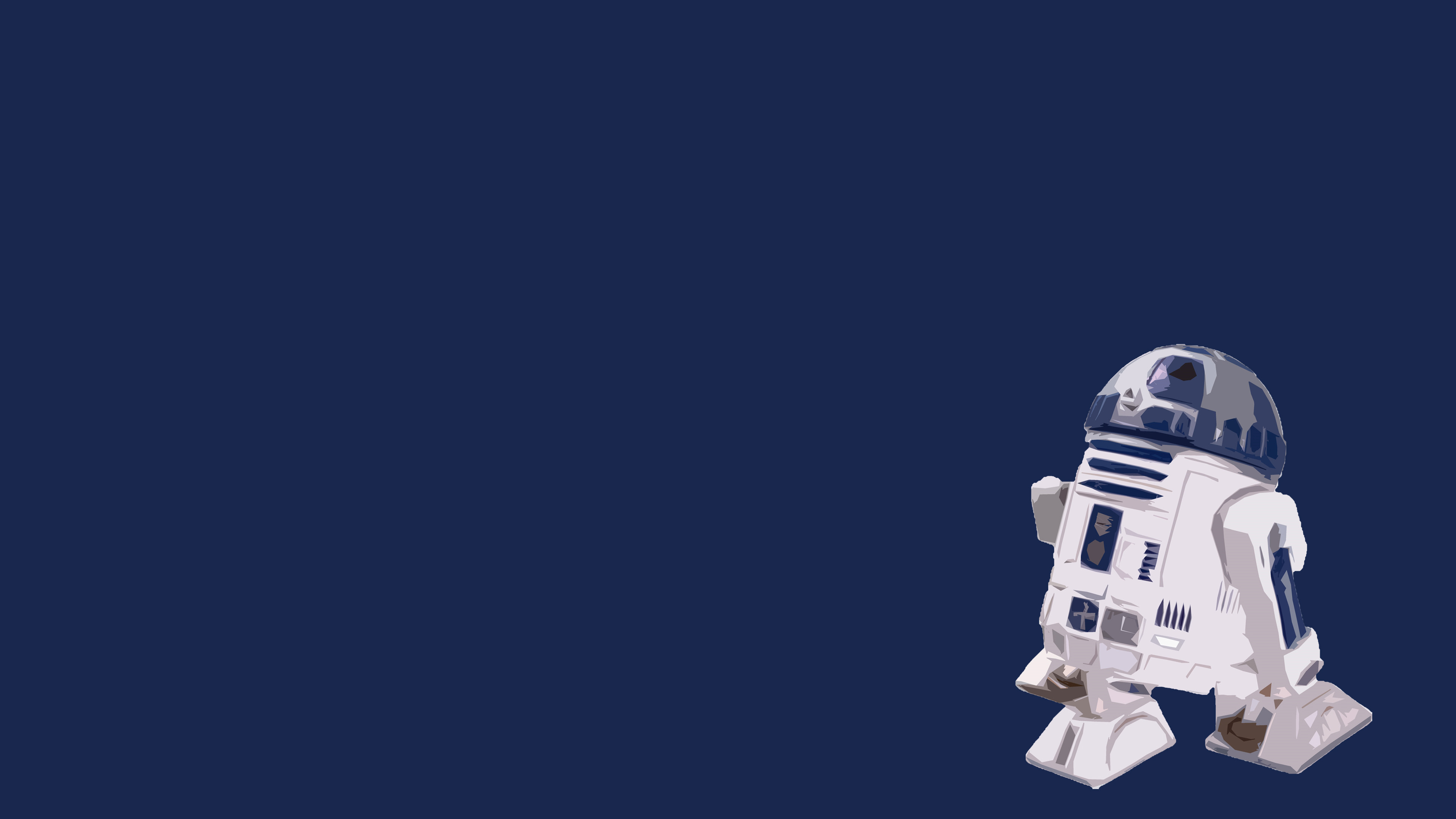 3840x2160 0 R2d2 Wallpaper HD Picturez Minimalist