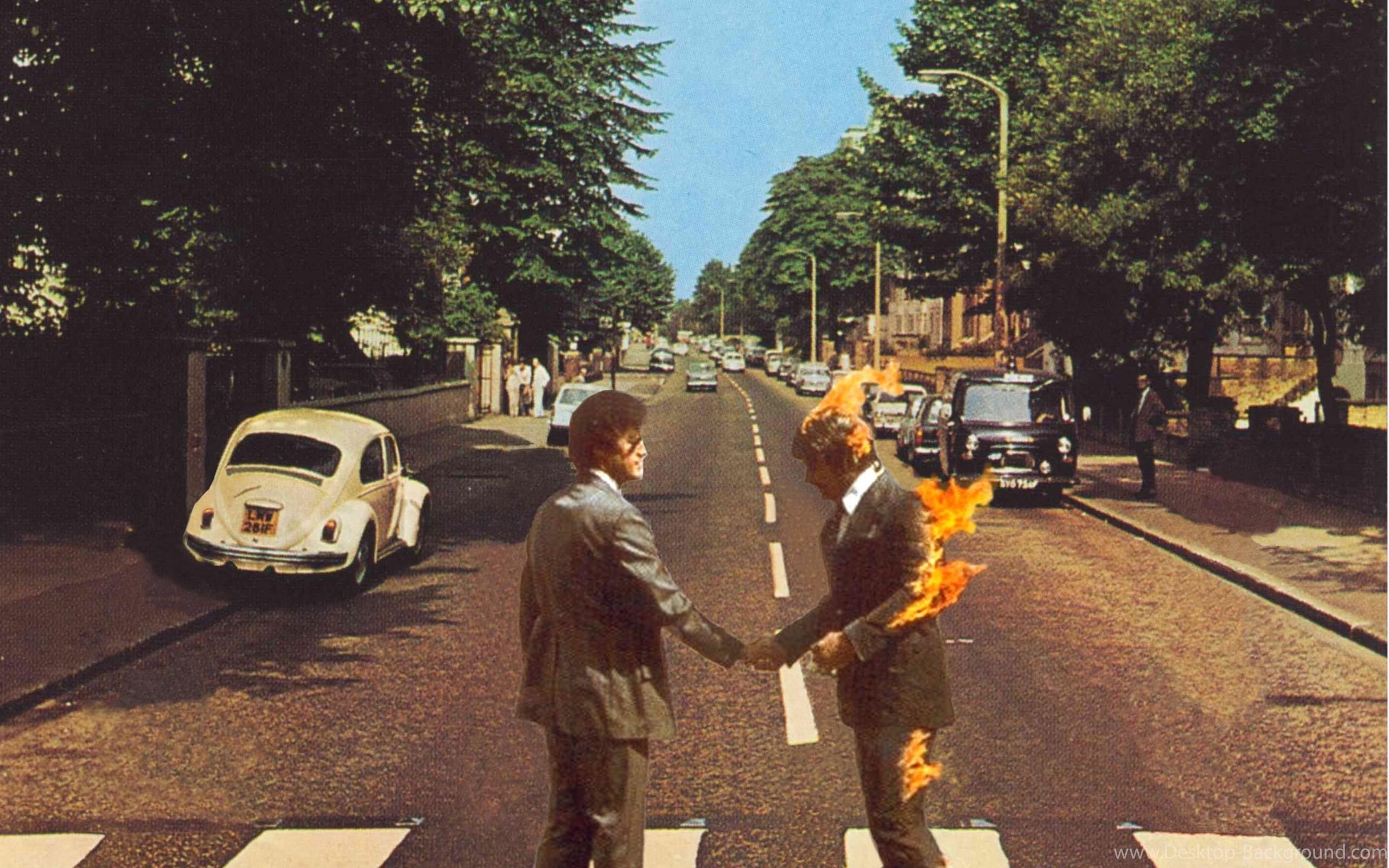 The Beatles Wallpaper Abbey Road Fitrini S Wallpaper
