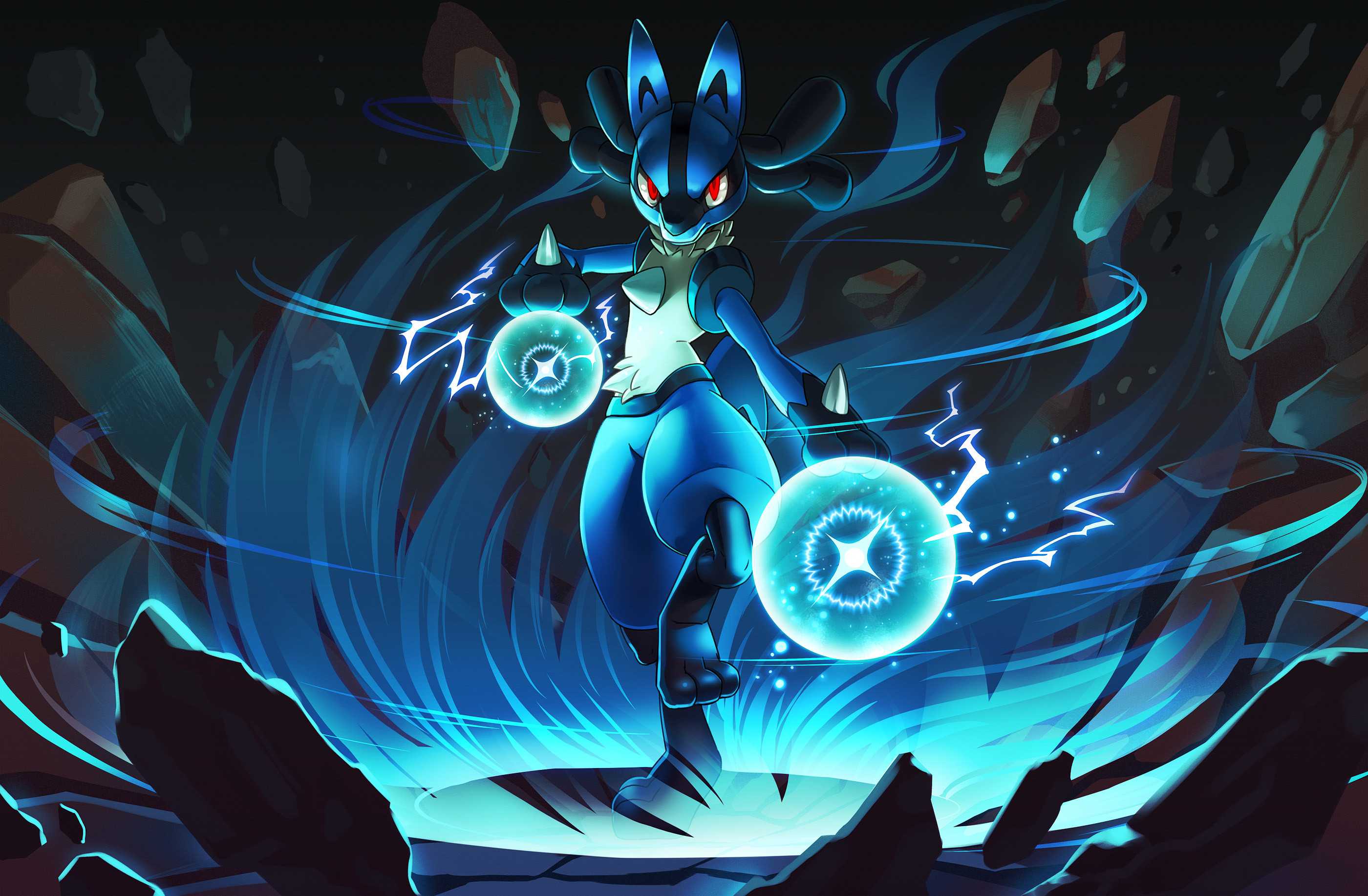 2000x1481 Lucario Wallpapers Android