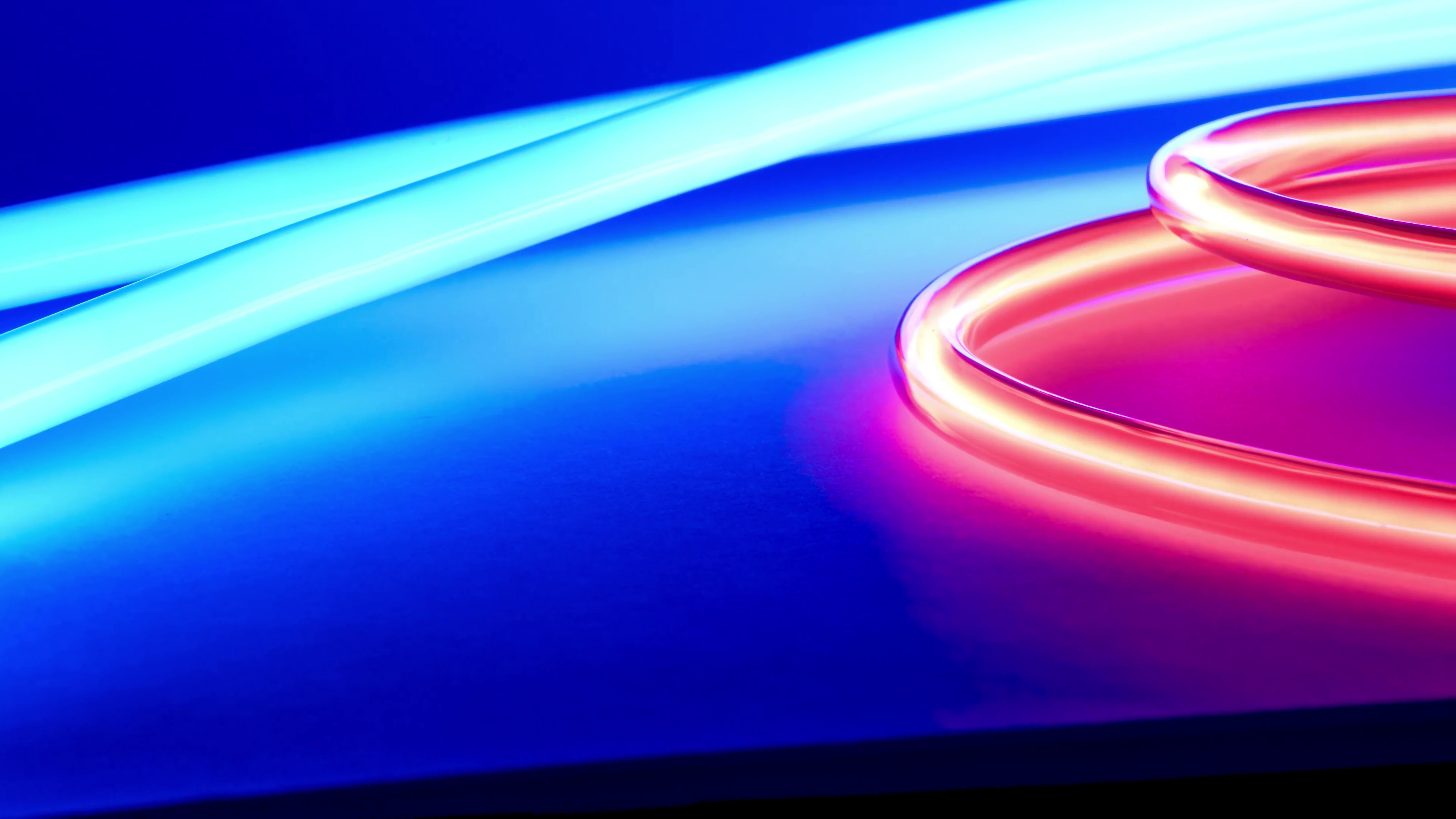 3840x2160 Abstract neon light motion background Stock Video Footage - VideoBlocks