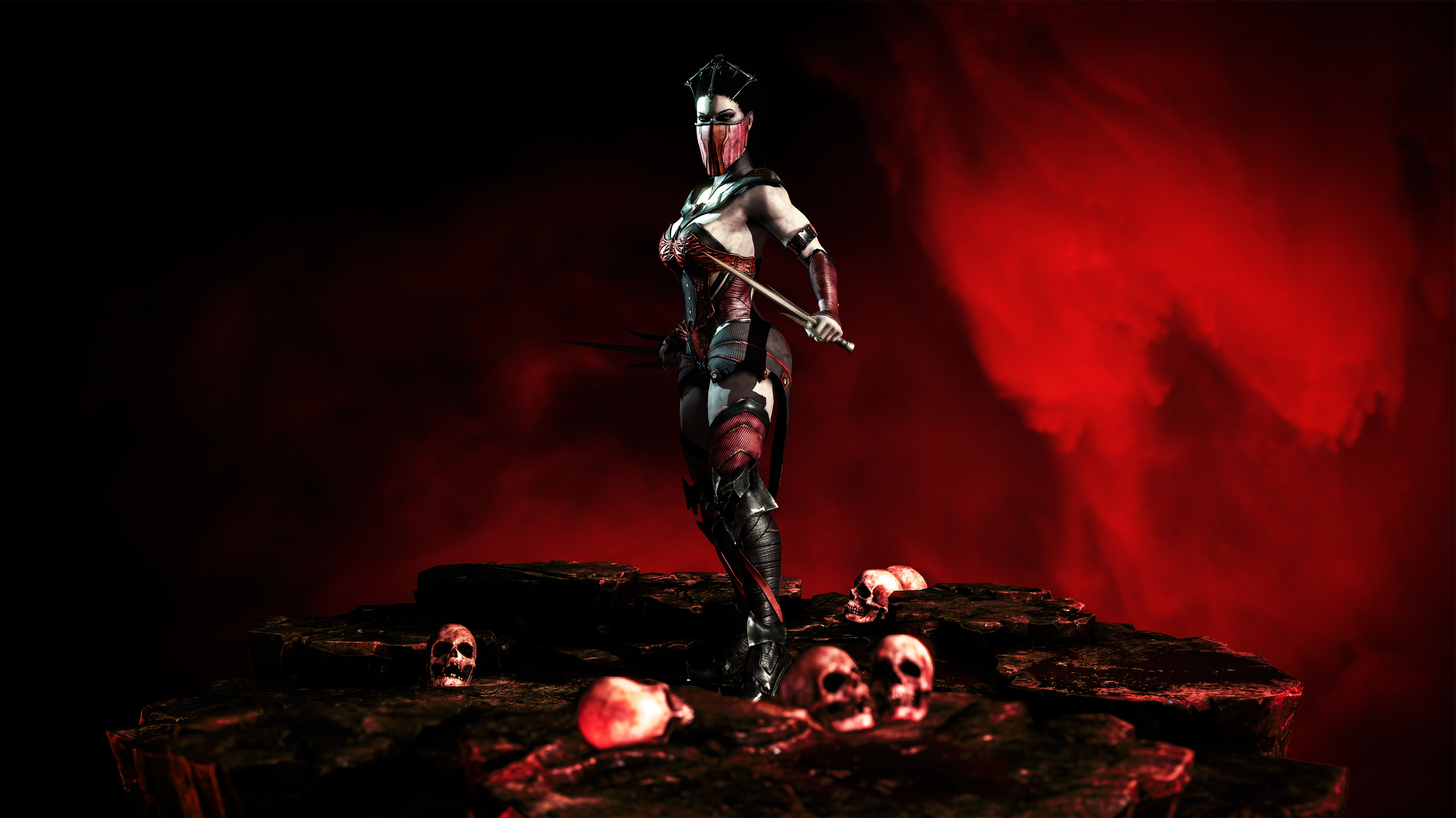 3840x2160 Mortal Kombat X Mileena K Wallpapers HD Wallpapers