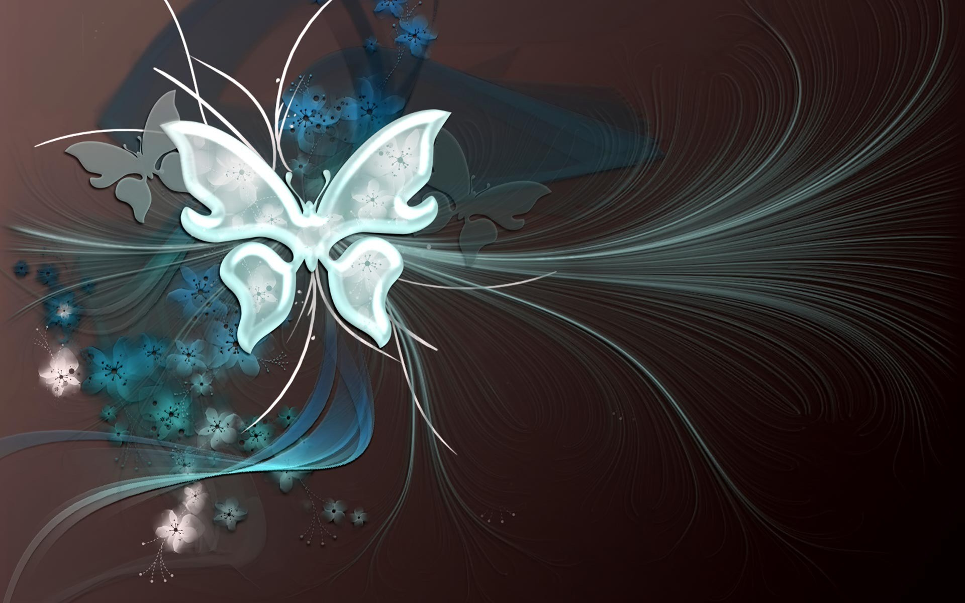 3D Butterfly Wallpaper (59+ images)  3D Butterfly Wa...