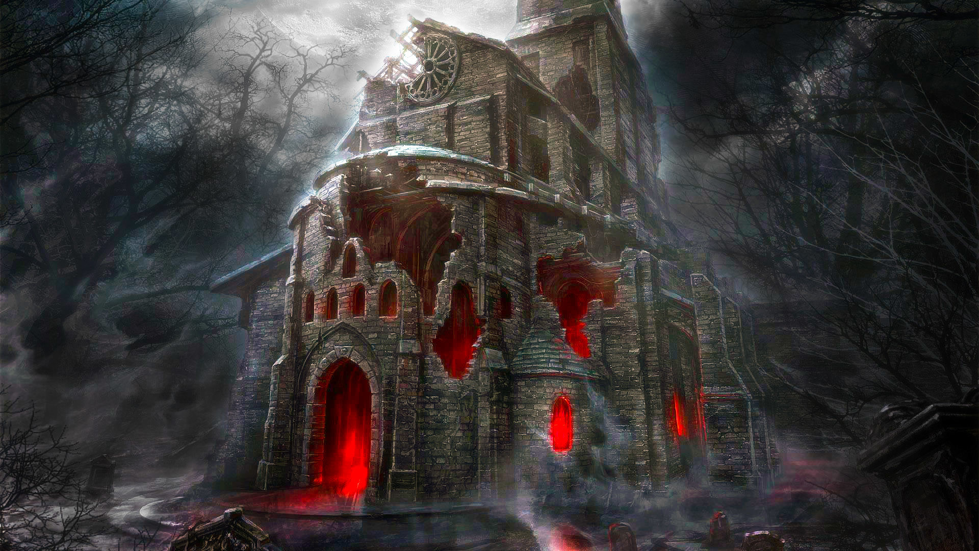 hd horror wallpapers 1080p (61+ images)