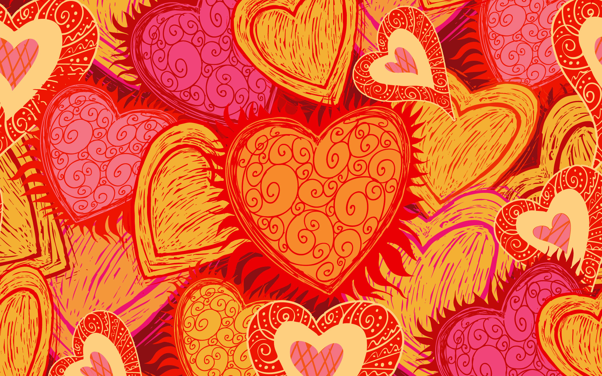 1920x1200 Bild: Love Hearts wallpapers and stock photos. Â«