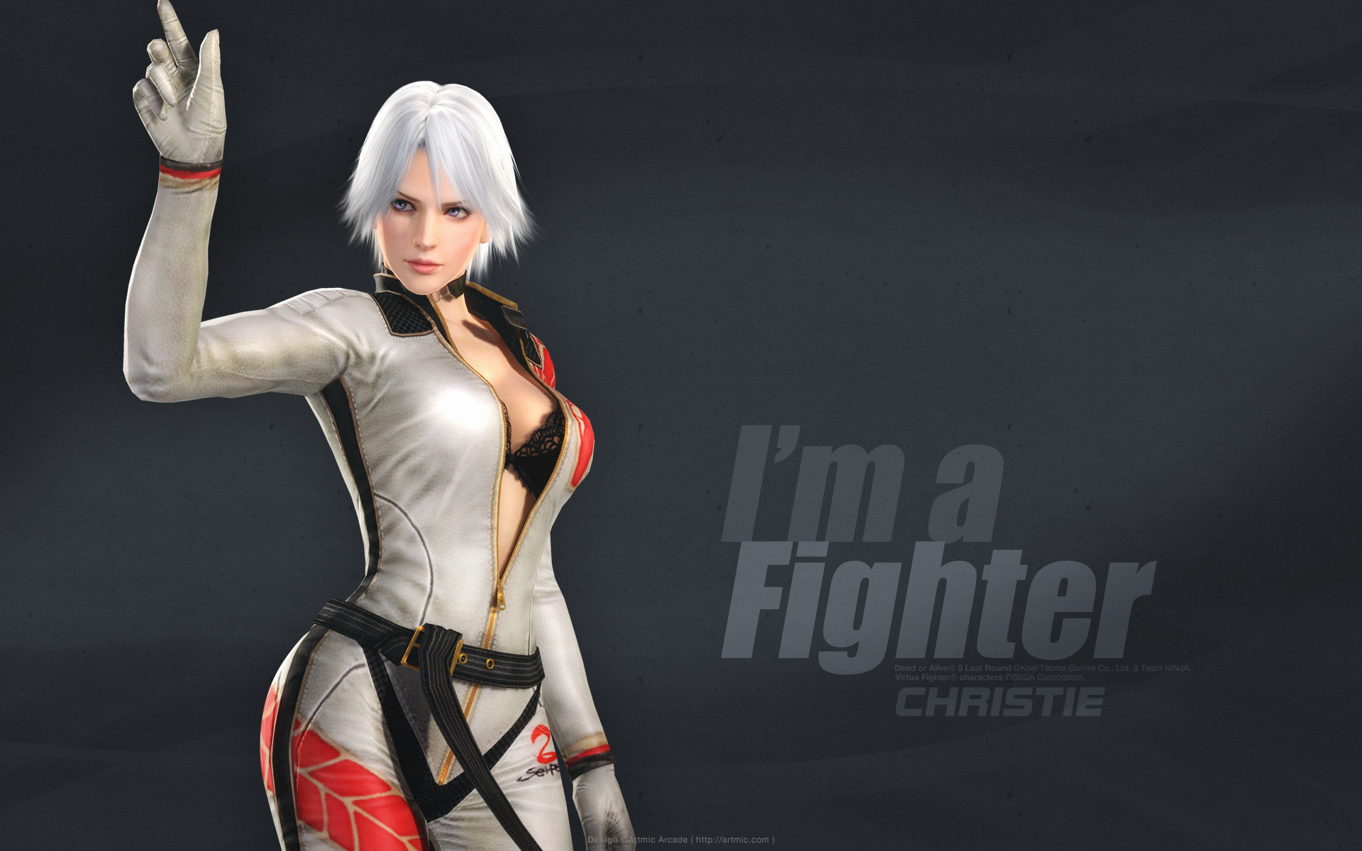 1920x1200 ... Dead or Alive 5 Last Round Wallpapers Christie ...