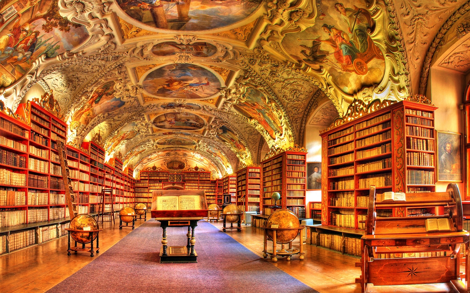 Library Background Images (50+ images)