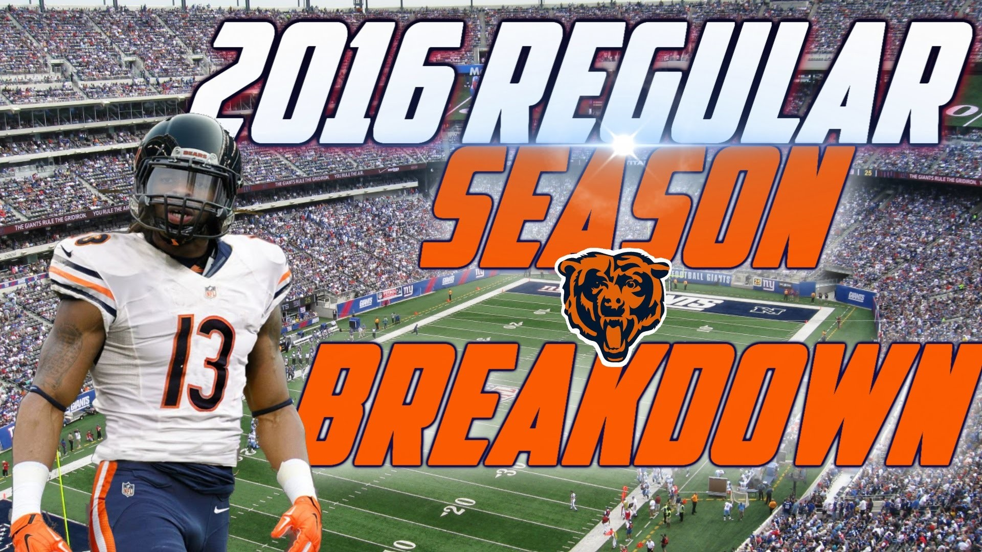 1920x1080 Chicago Bears Football News Schedule Roster Stats