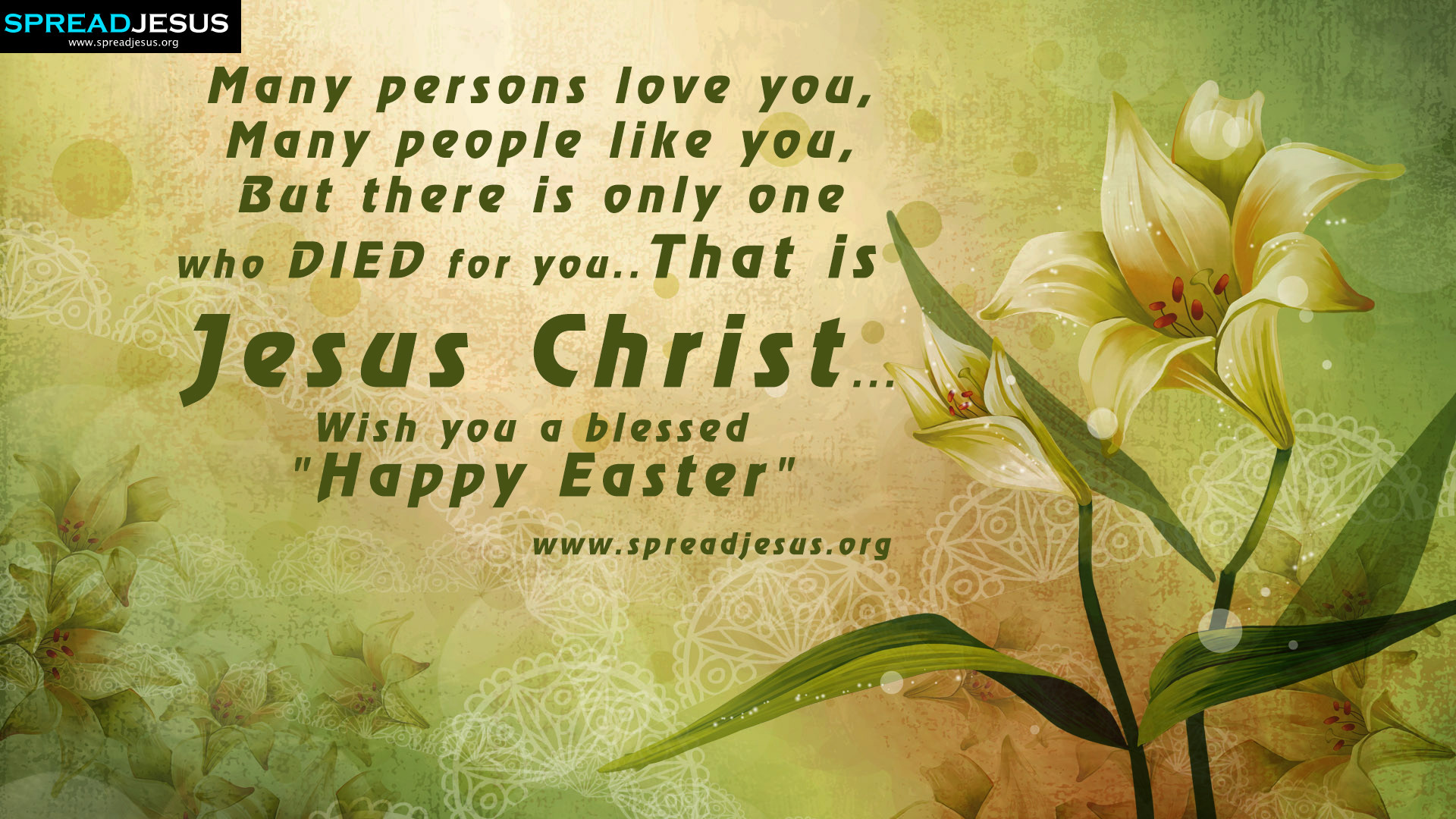 "1920x1080 Wish you a blessed ""Happy Easter"" EASTER GREETINGS HD-WALLPAPERS Many  persons love"