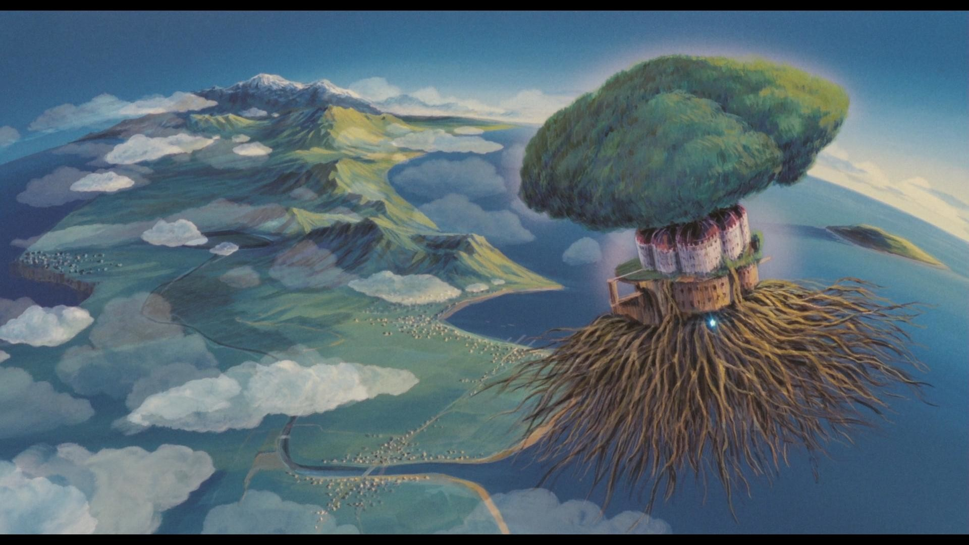 Castle In The Sky Wallpaper 70 Images