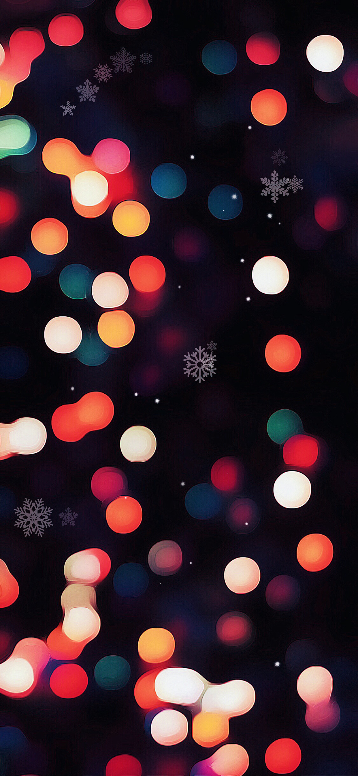 Christmas Lights iPhone Wallpaper (79+ images)