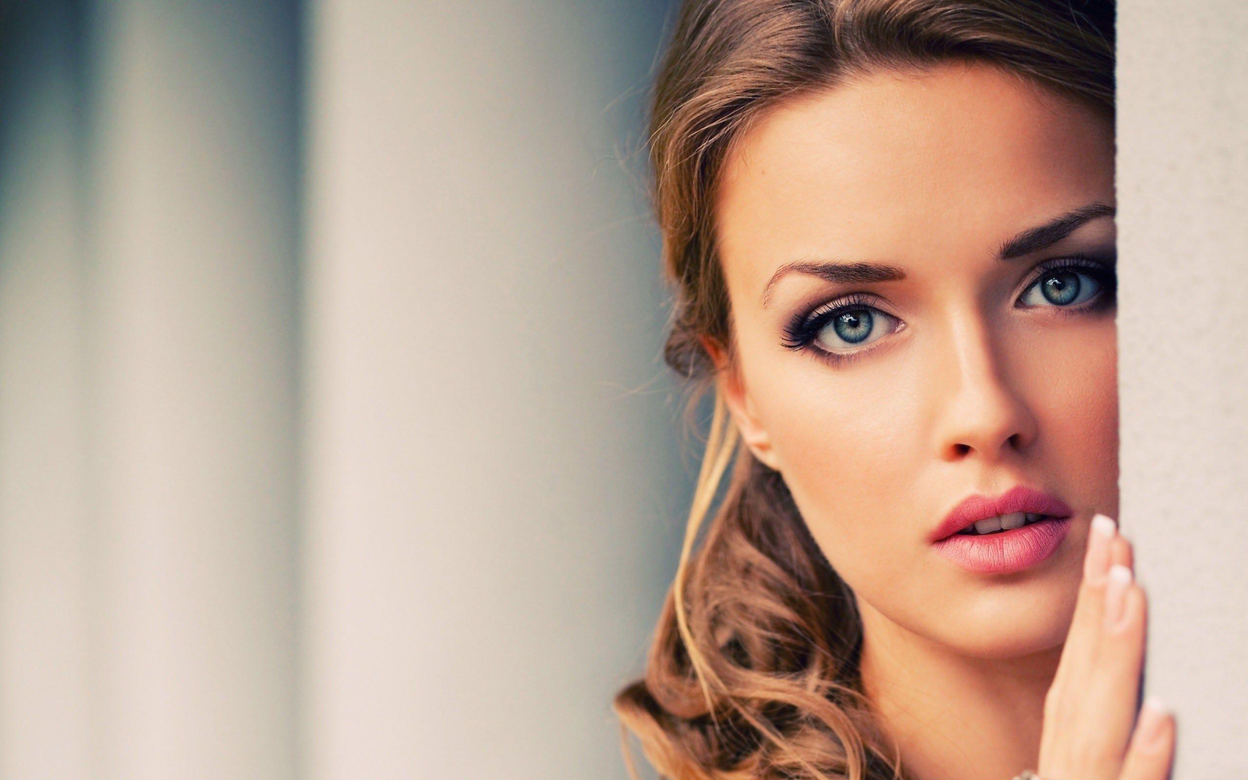Beautiful Women Faces Wallpaper 54 Images