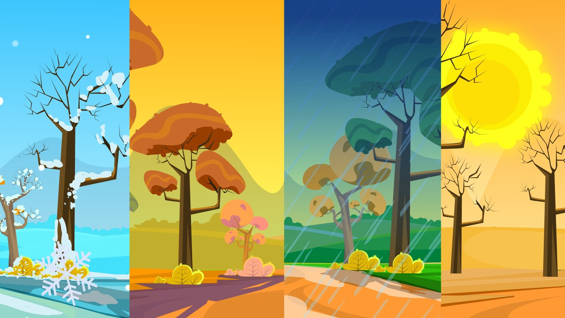 Four Seasons Wallpaper (53+ Images