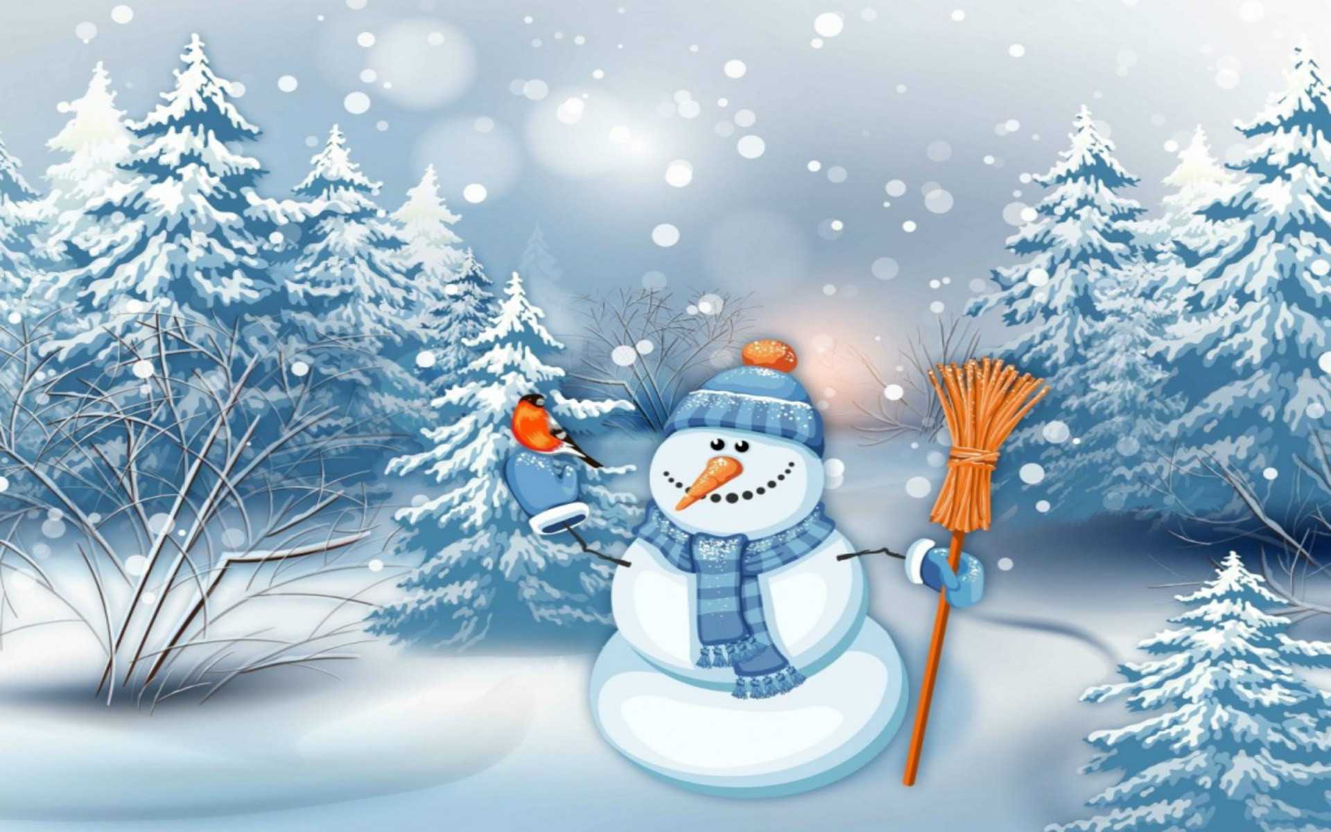 1920x1200 Christmas Snowman HD Wallpapers - New HD Wallpapers ...
